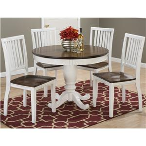 "42"" Round Kitchen Table and Chair Set"