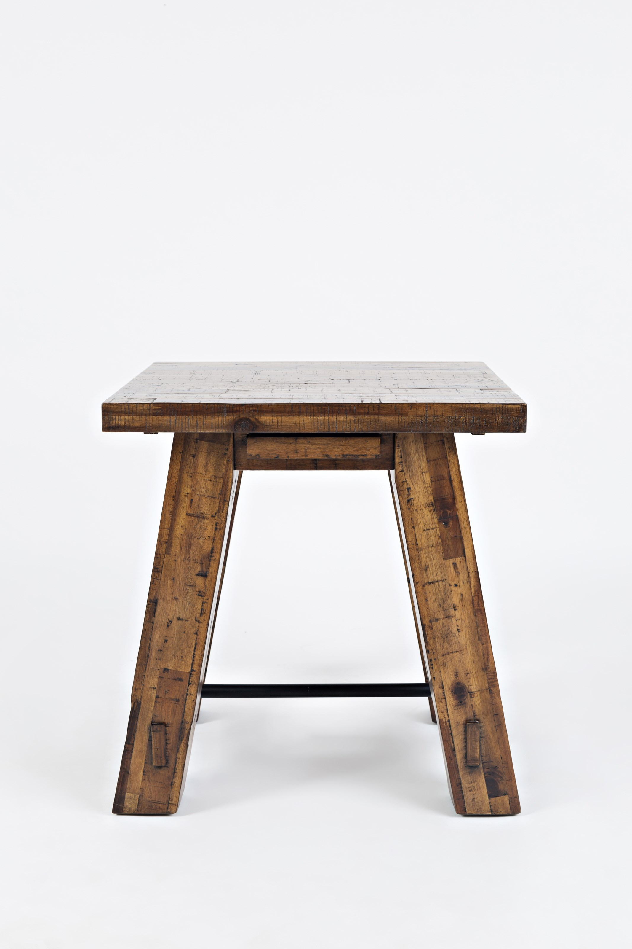 Cannon Valley Trestle End Table by Jofran at Stoney Creek Furniture