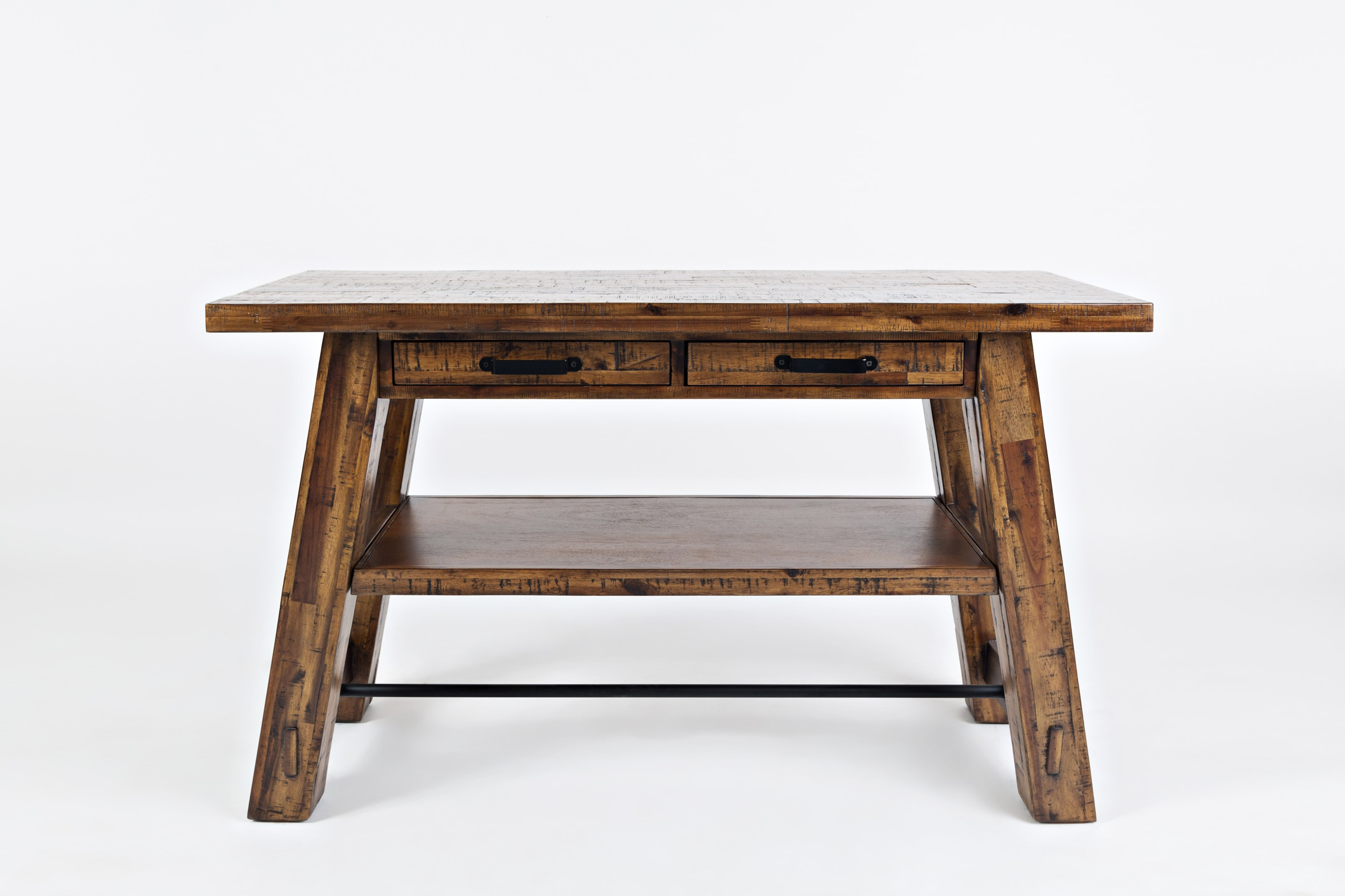 Cannon Valley Trestle Sofa Table by Jofran at Stoney Creek Furniture