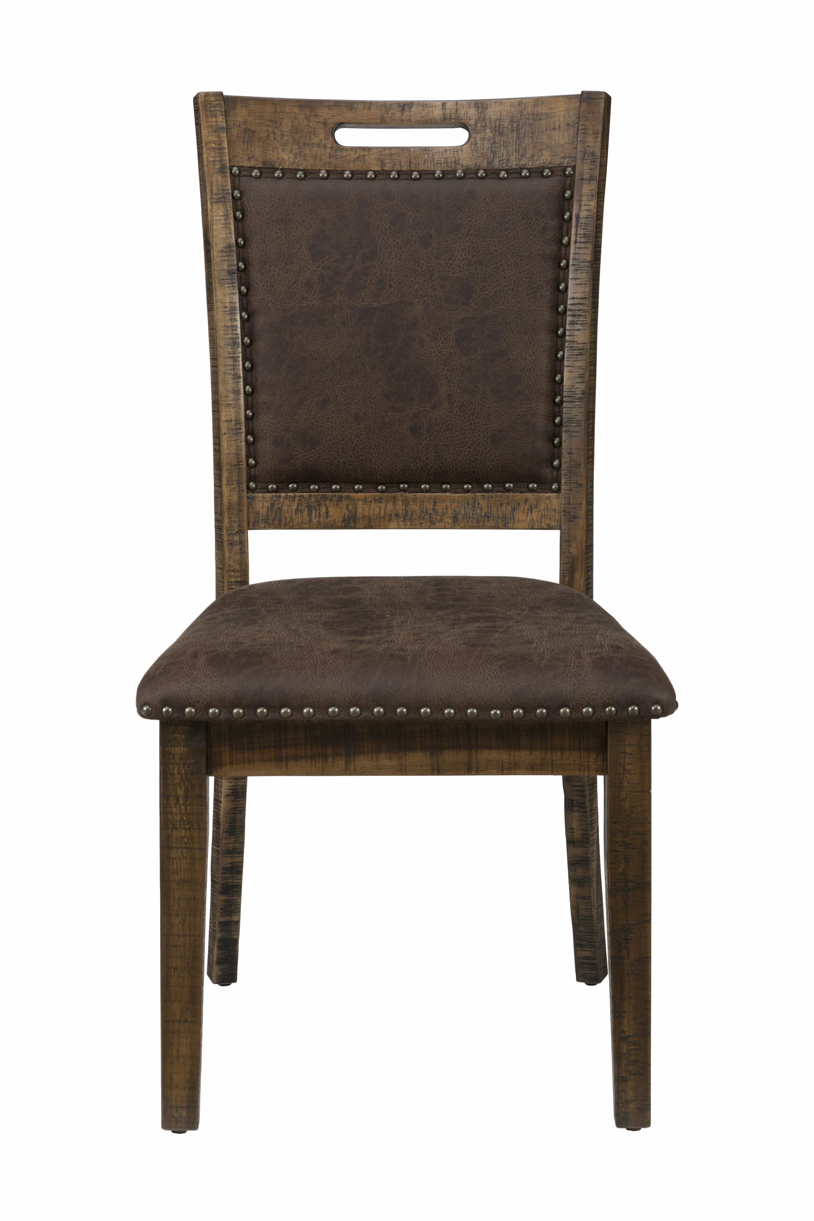 Cannon Valley Upholstered Back Dining Chair by Jofran at Stoney Creek Furniture