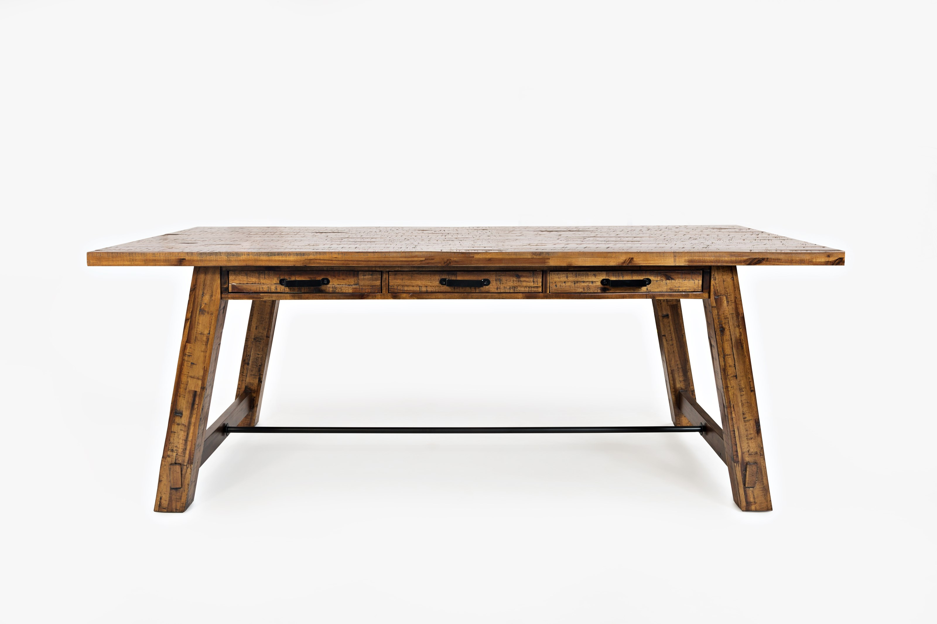 Cannon Valley Trestle Dining Table by Jofran at Lapeer Furniture & Mattress Center
