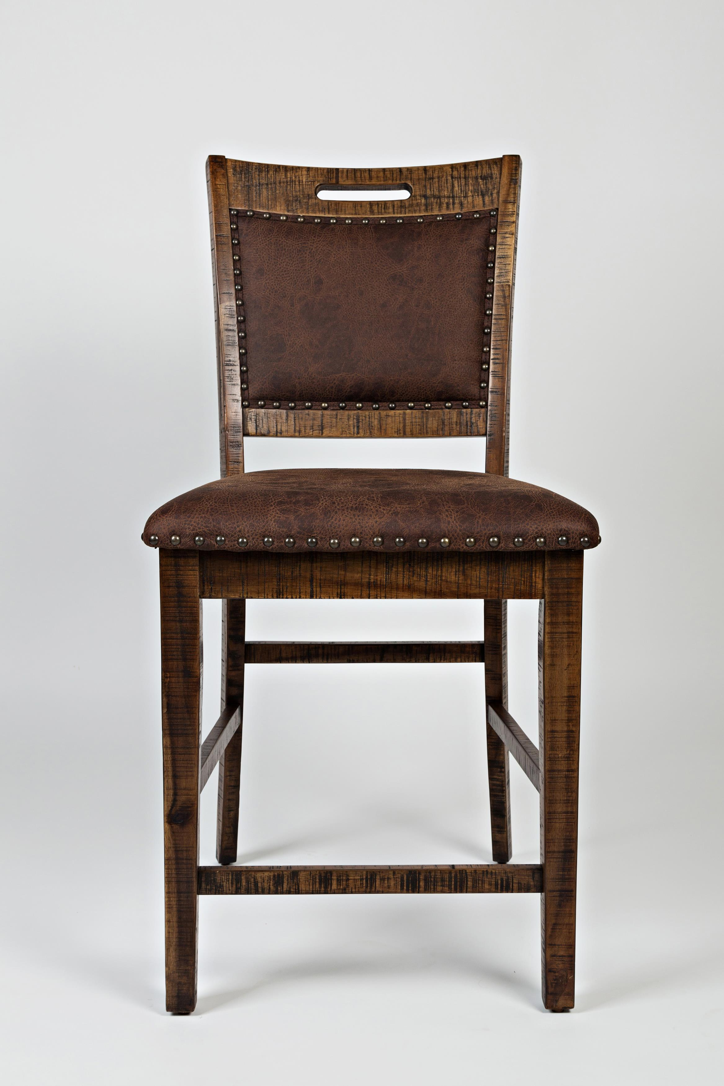 Cannon Valley Upholstered Back Counter Stool by Jofran at Stoney Creek Furniture