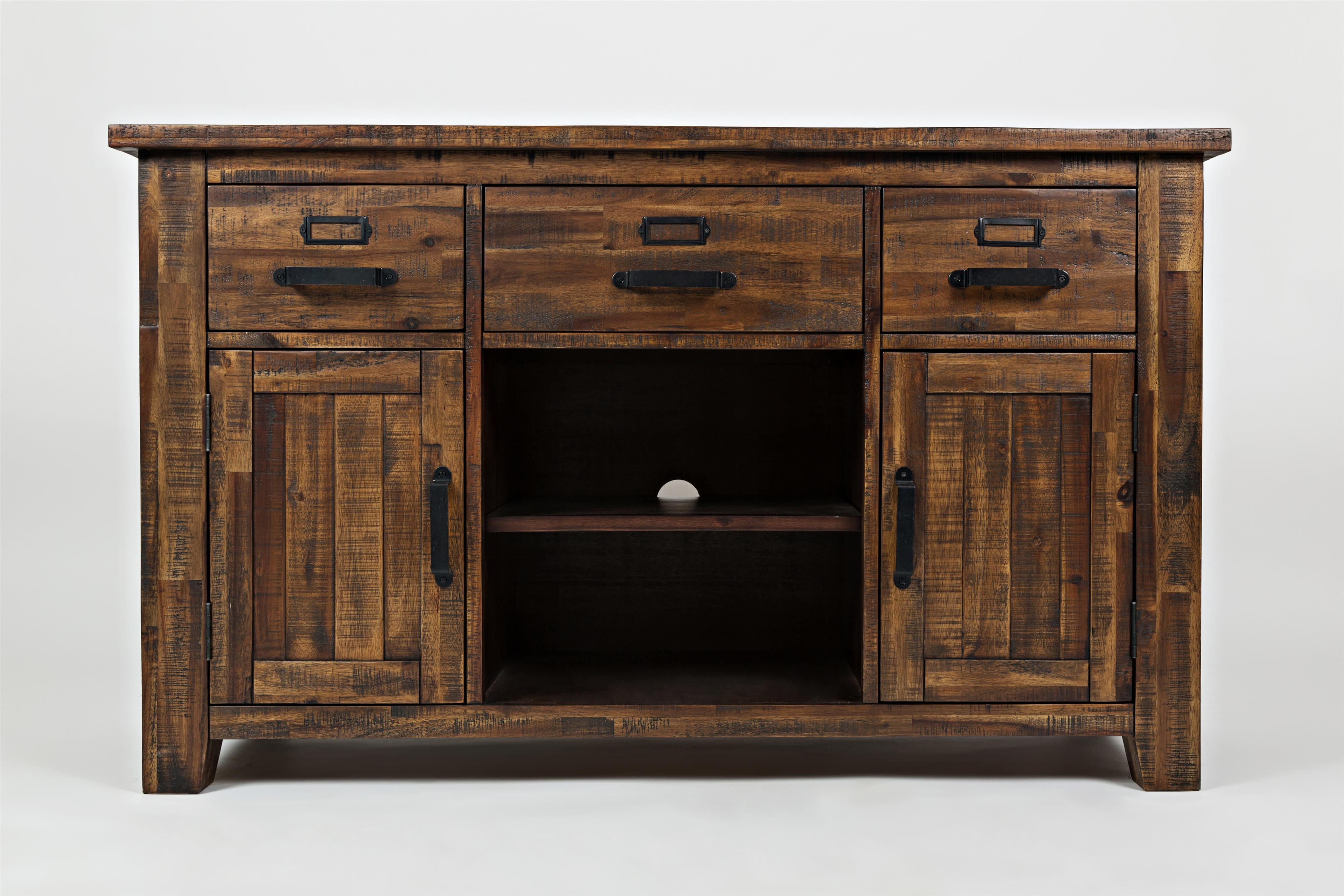 """Cannon Valley Cannon Valley 50"""" Media Unit by Jofran at Stoney Creek Furniture"""
