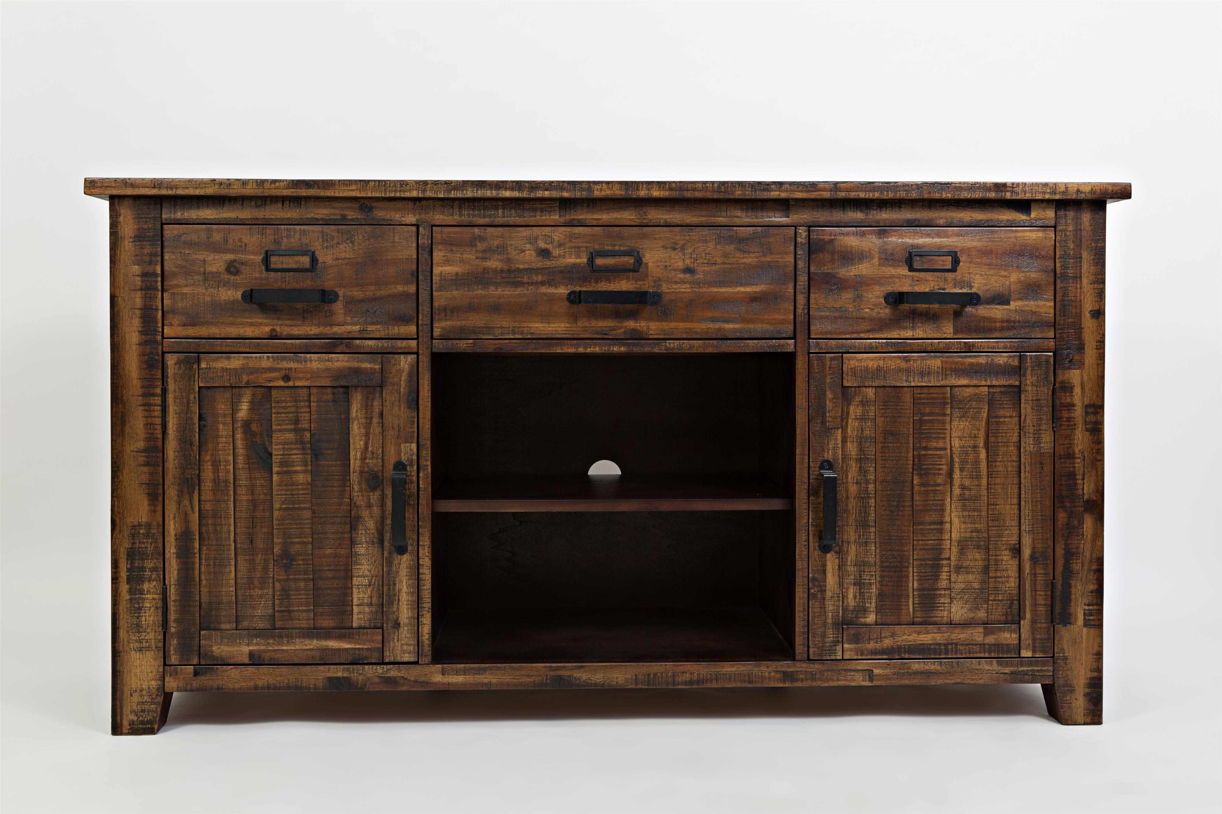 """Cannon Valley Cannon Valley 60"""" Media Unit by Jofran at Beck's Furniture"""