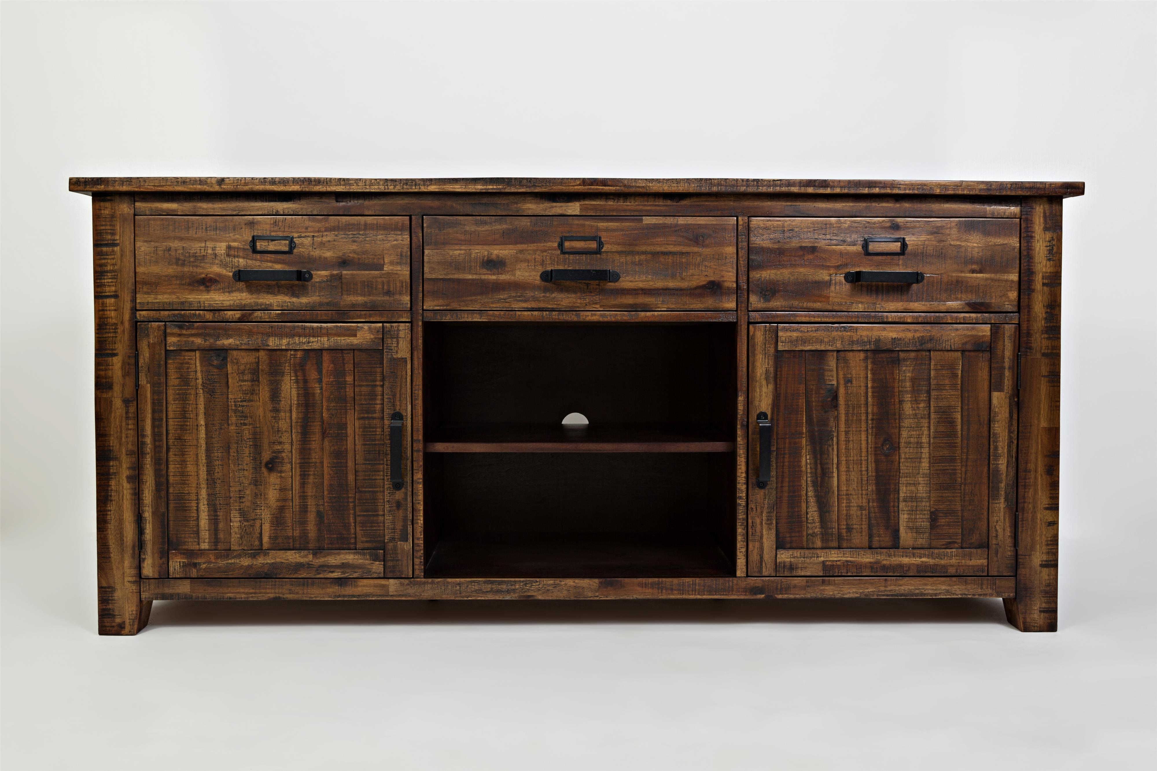 """Cannon Valley Cannon Valley 70"""" Media Unit by Jofran at Beck's Furniture"""