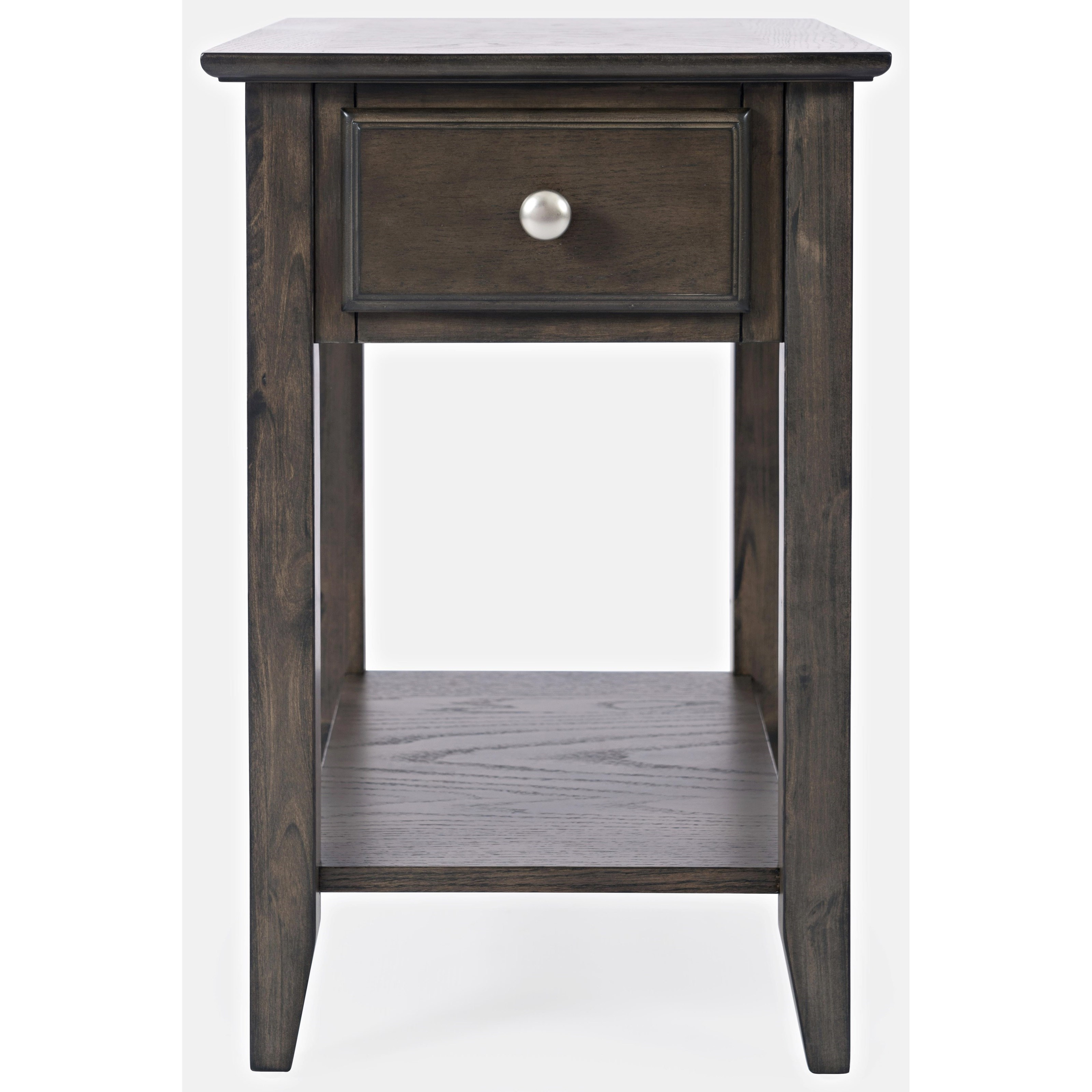 Carlton Chair Side Table w/ Drawer by Jofran at Value City Furniture