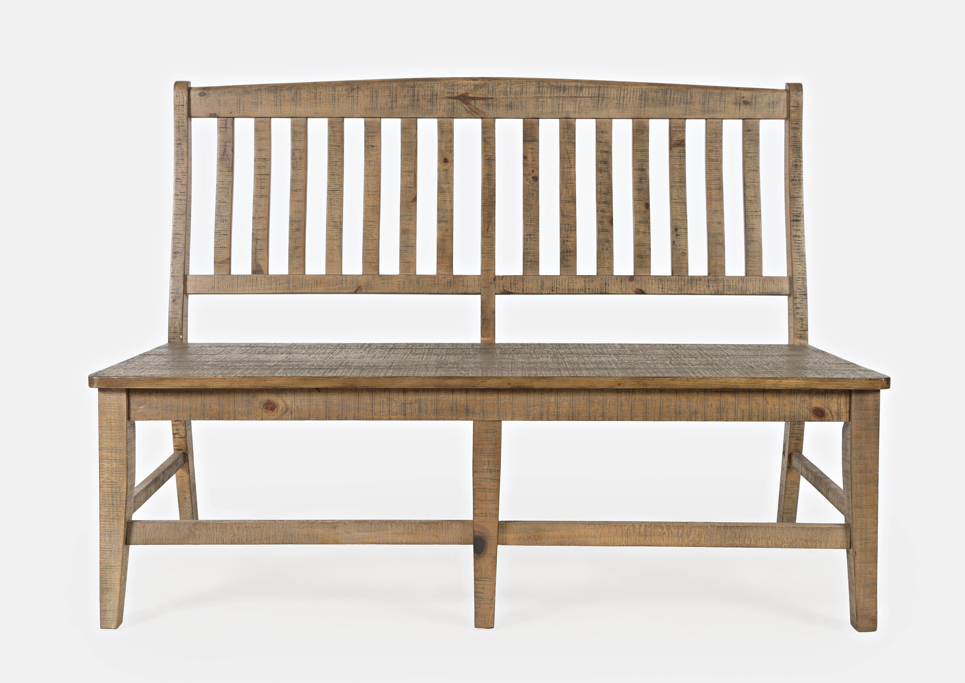 Carlyle Crossing Slatback Dining Bench by Jofran at Crowley Furniture & Mattress
