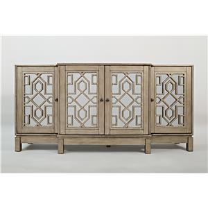 "Casa Bella 70"" Mirrored Console"