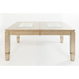 Rectangle Dining Table with Extension Leaf