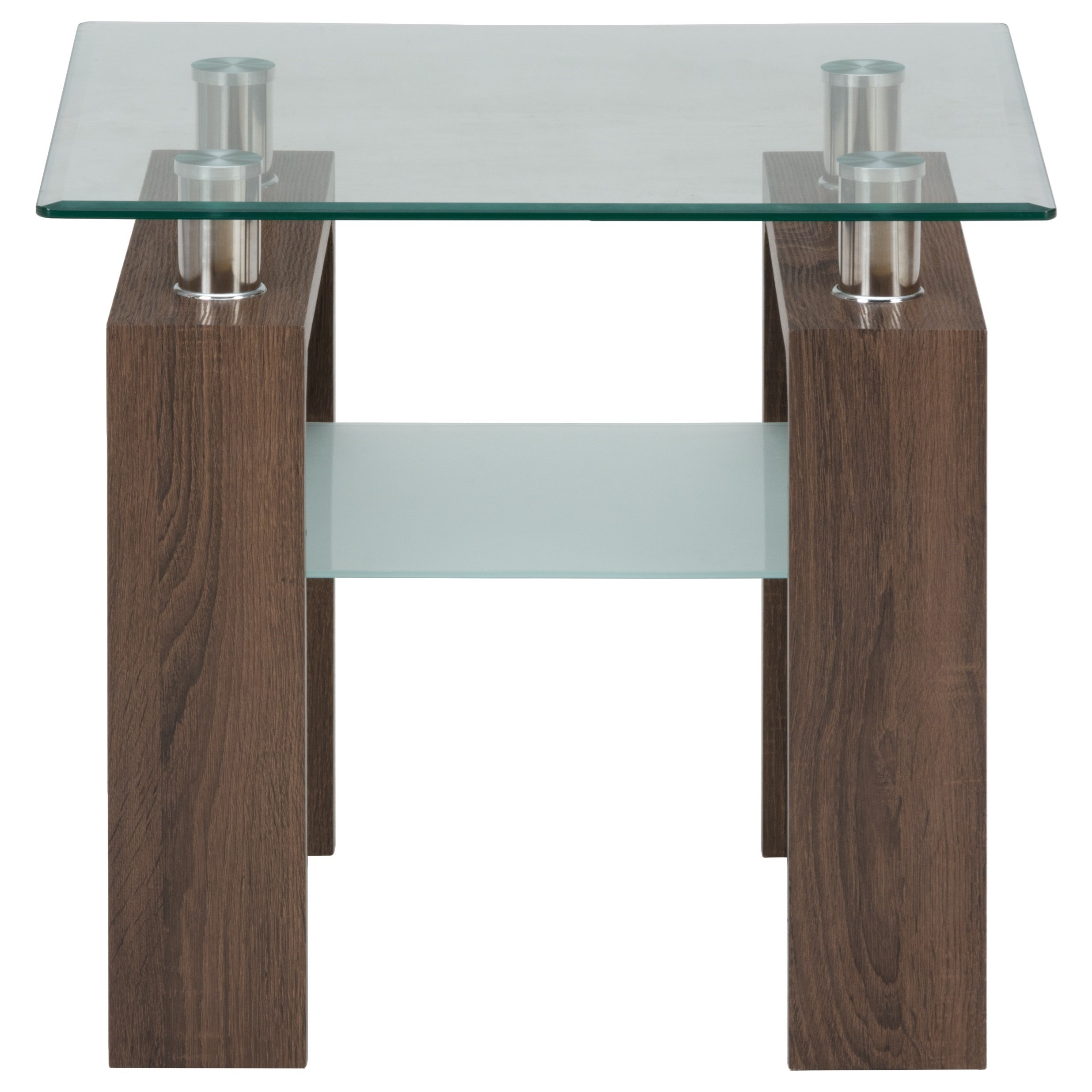 Compass End Table by Jofran at Beck's Furniture