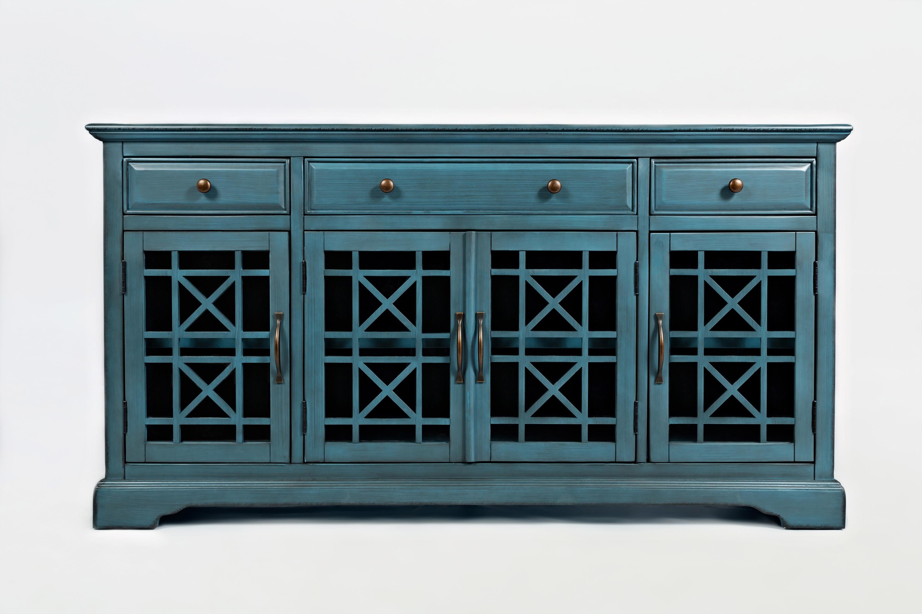 "Craftsman 60"" Media Unit by Jofran at Beck's Furniture"