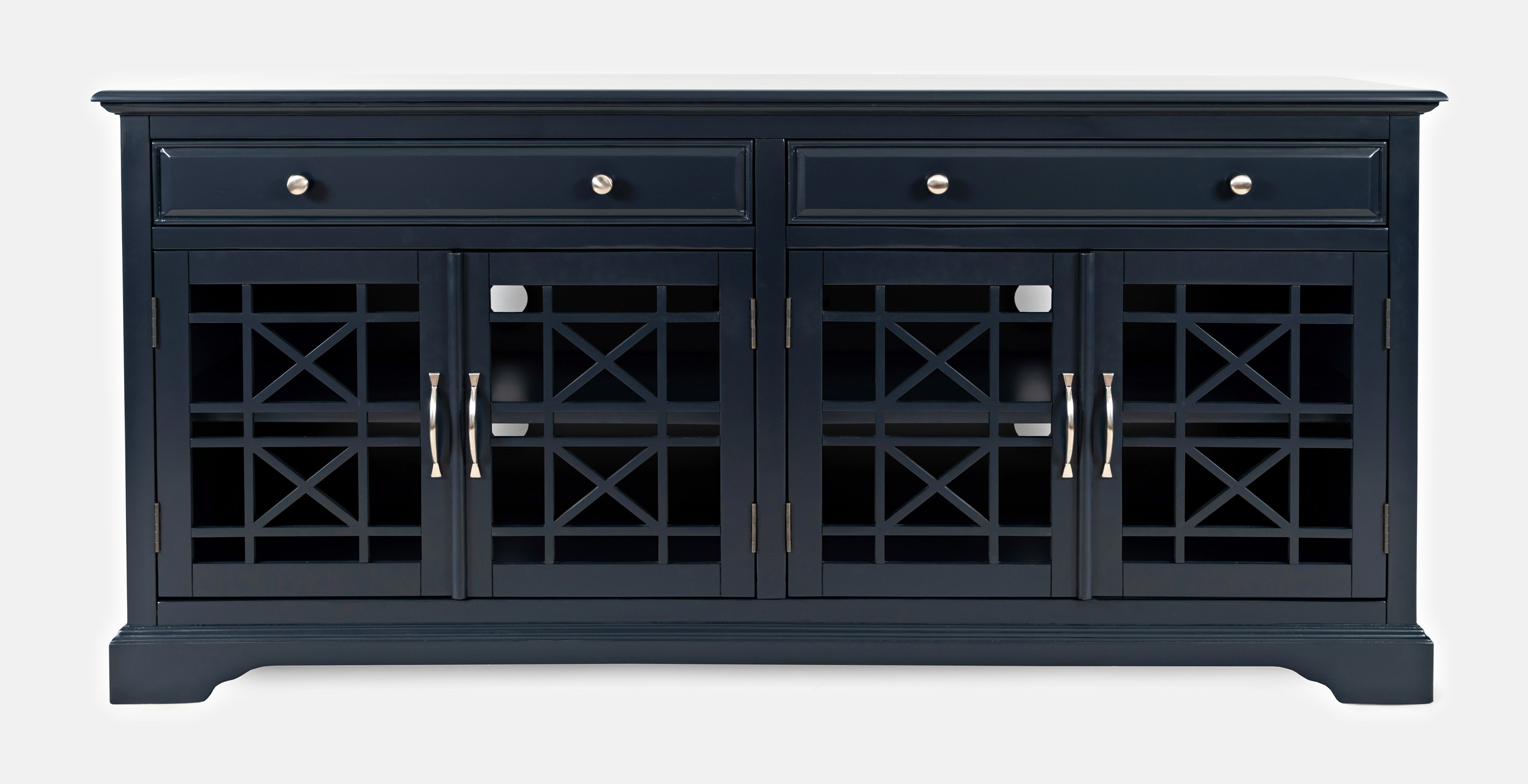 """Craftsman 70"""" Media Unit by Jo Furniture Co. at Ruby Gordon Home"""