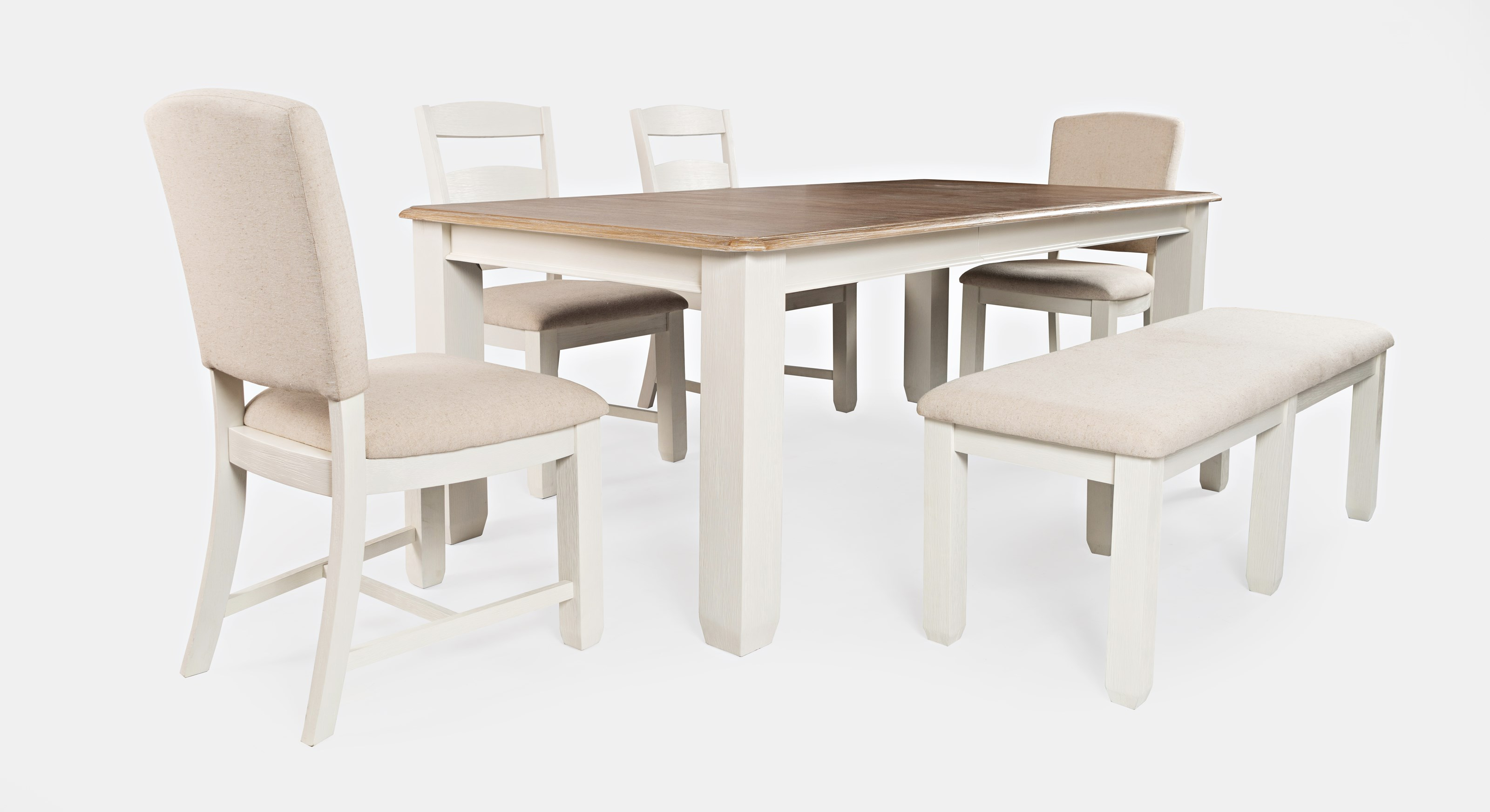 Dana Point 6-Piece Table and Chair Set by Jofran at Jofran