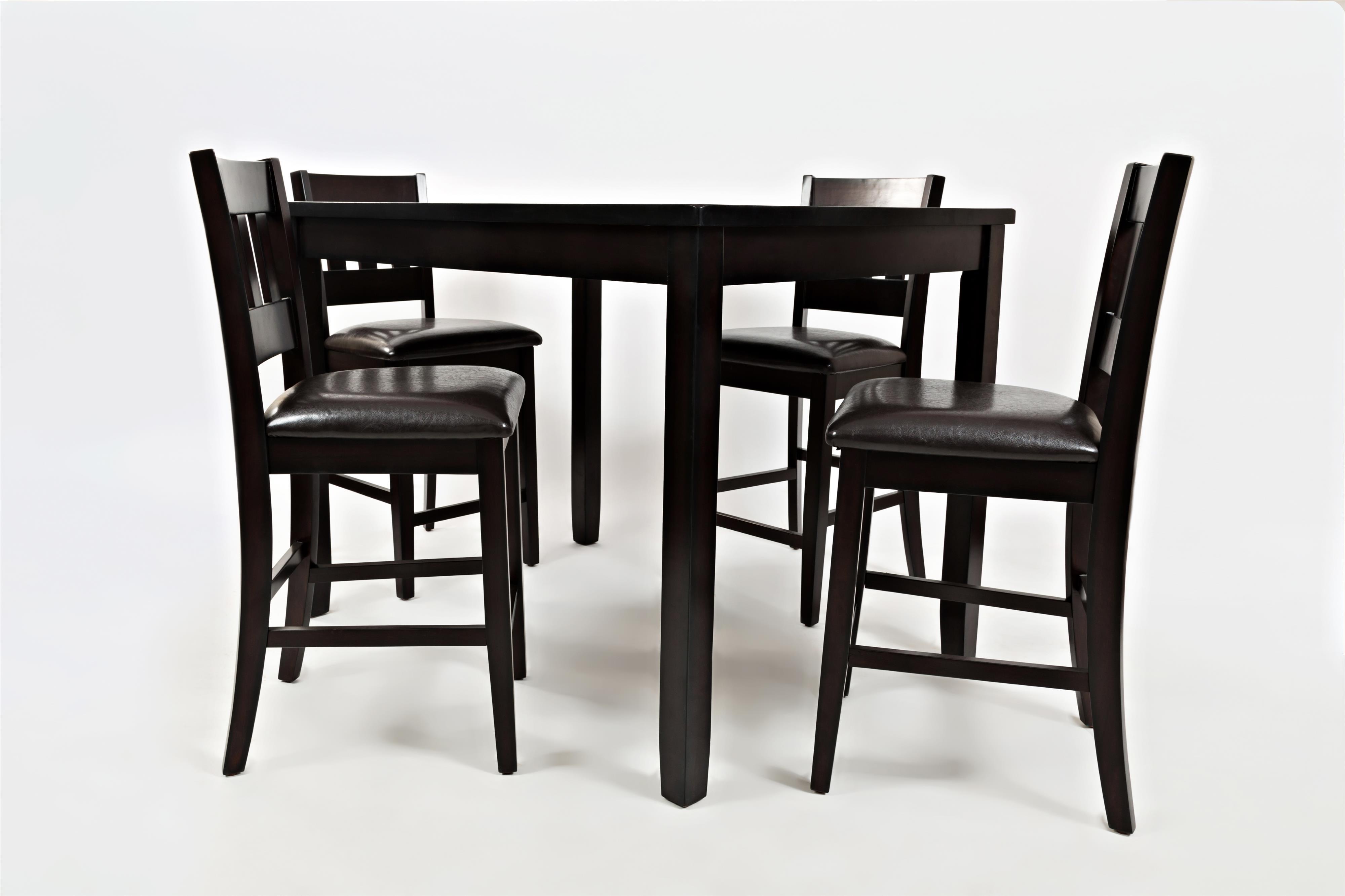 Dark Rustic Prarie Dark Rustic Prairie Counter Height Table Set by Jofran at Jofran