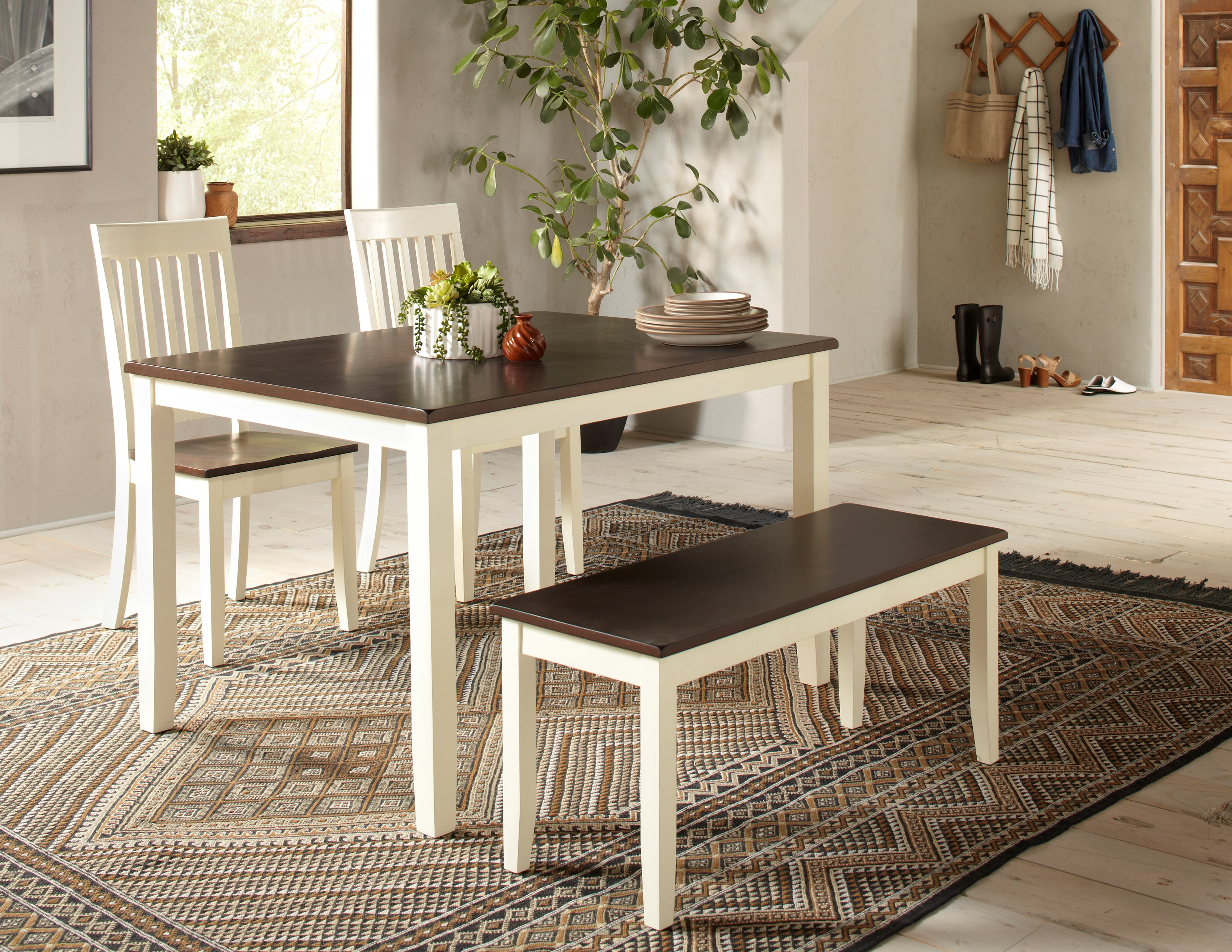 Decatur Lane 4 Pack Dining Group by Jofran at Powell's Furniture and Mattress