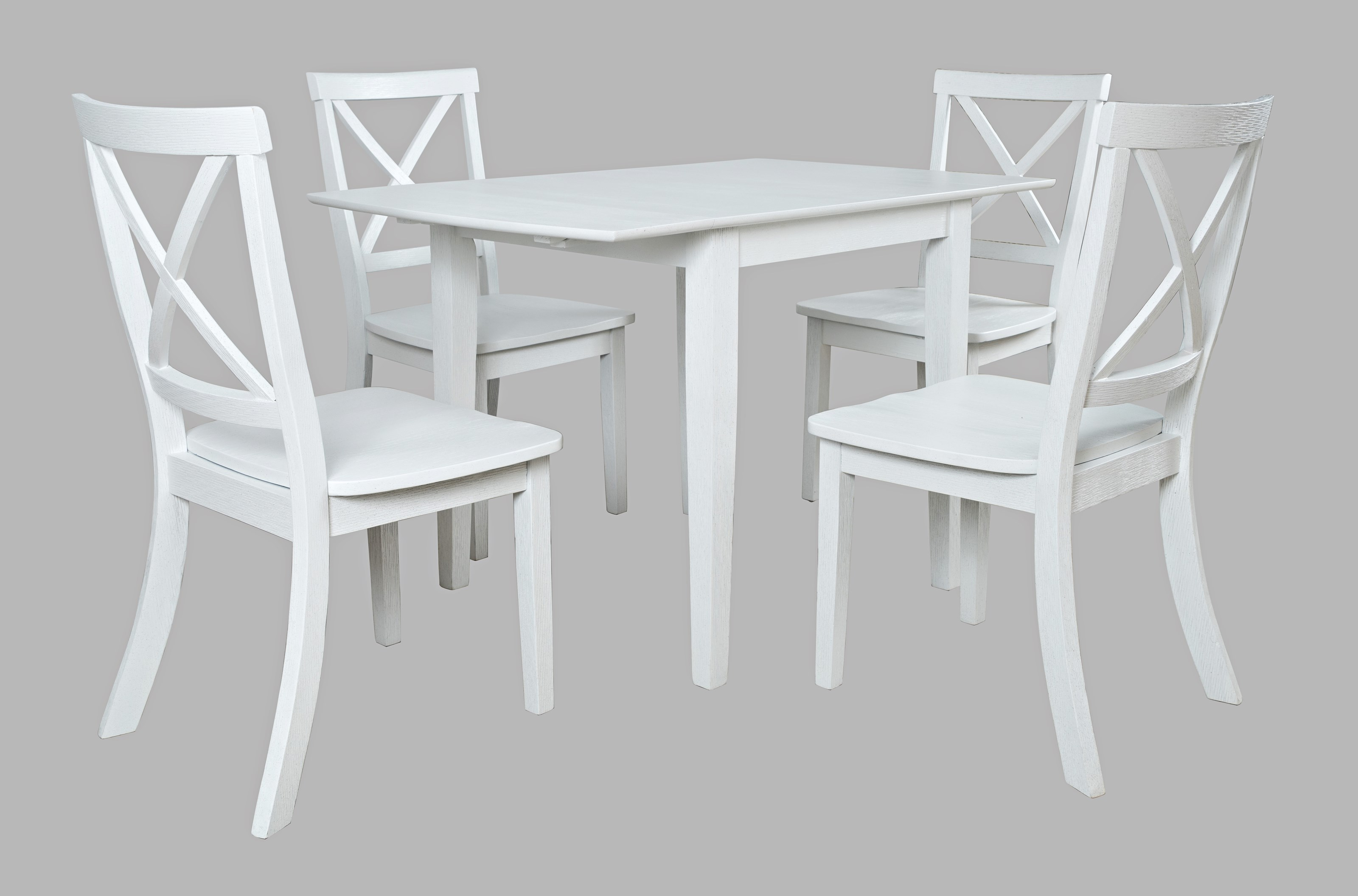 Eastern Tides 5 Piece Table and Chair Set by Jofran at Jofran