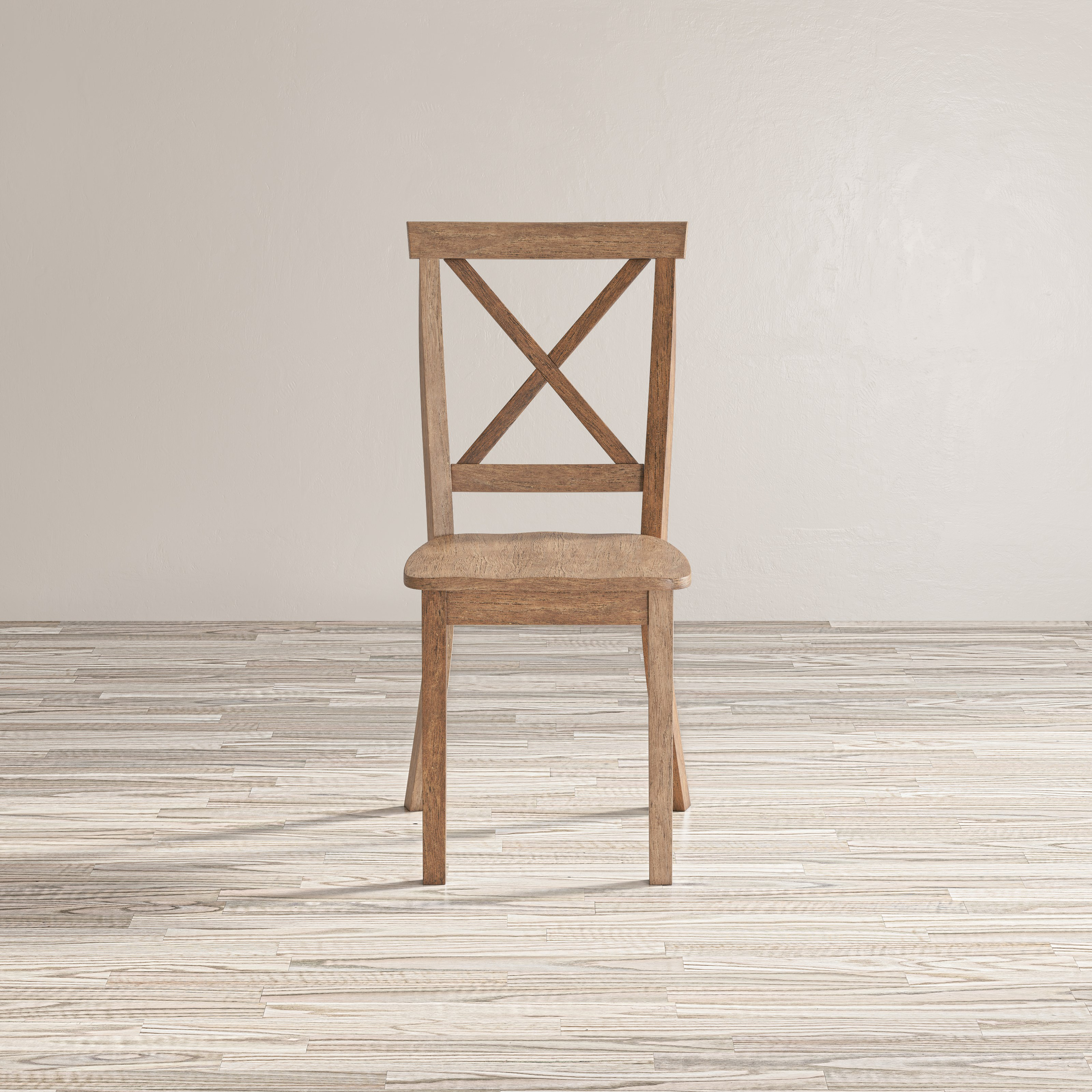 Eastern Tides X Back Dining Chair by Jofran at Furniture and ApplianceMart
