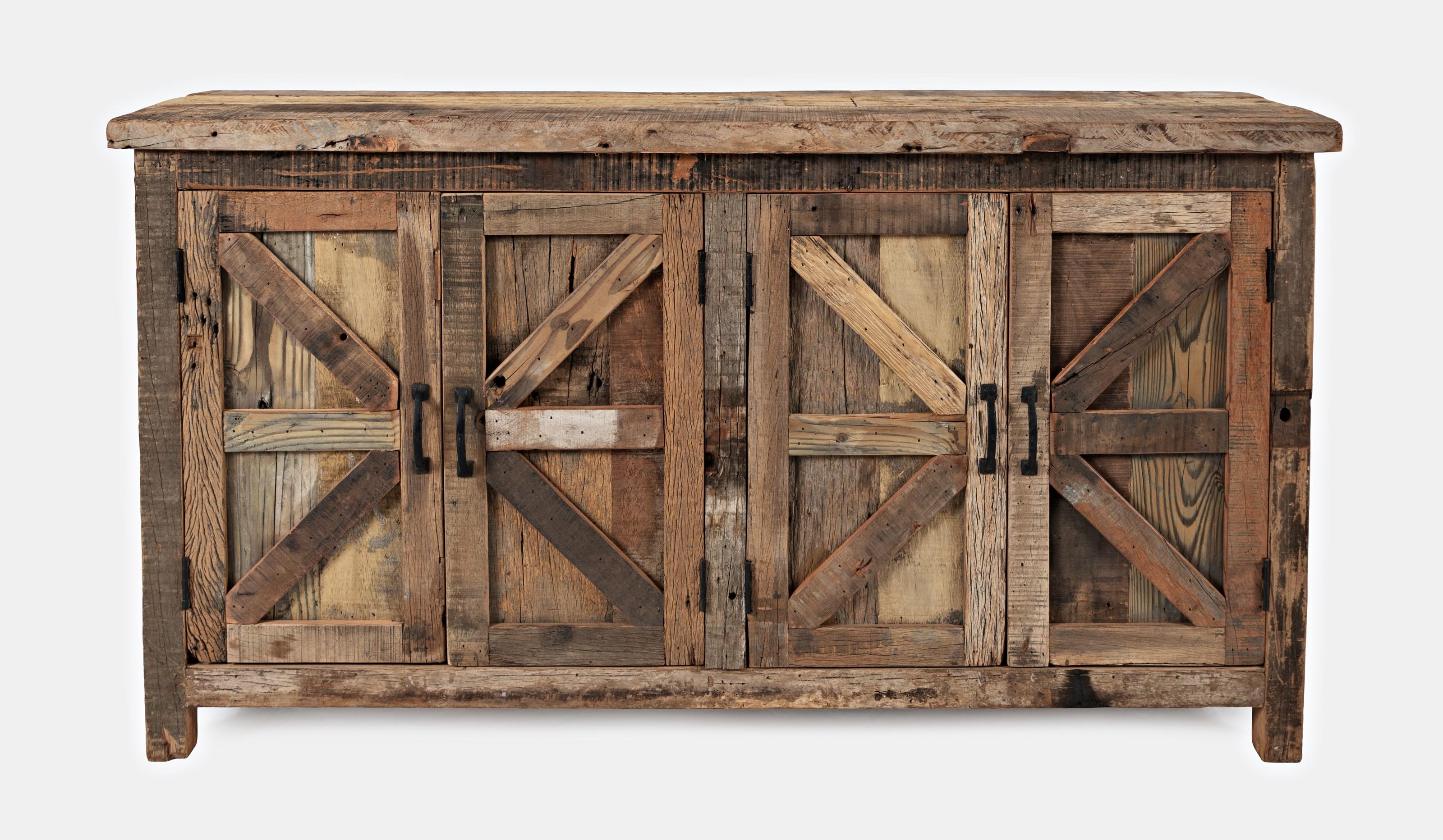 Eden Prairie 4 Door Accent Cabinet by Jofran at Beck's Furniture