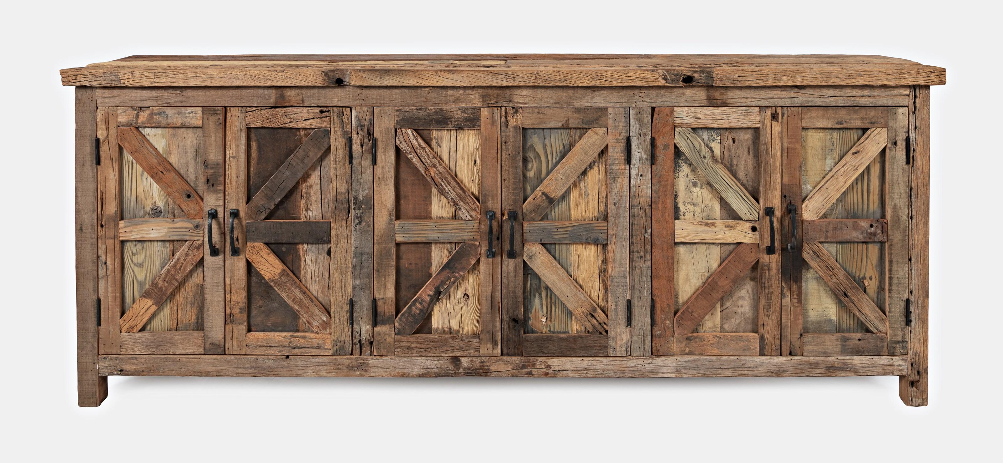 Eden Prairie 6 Door Accent Cabinet by Jofran at Beck's Furniture