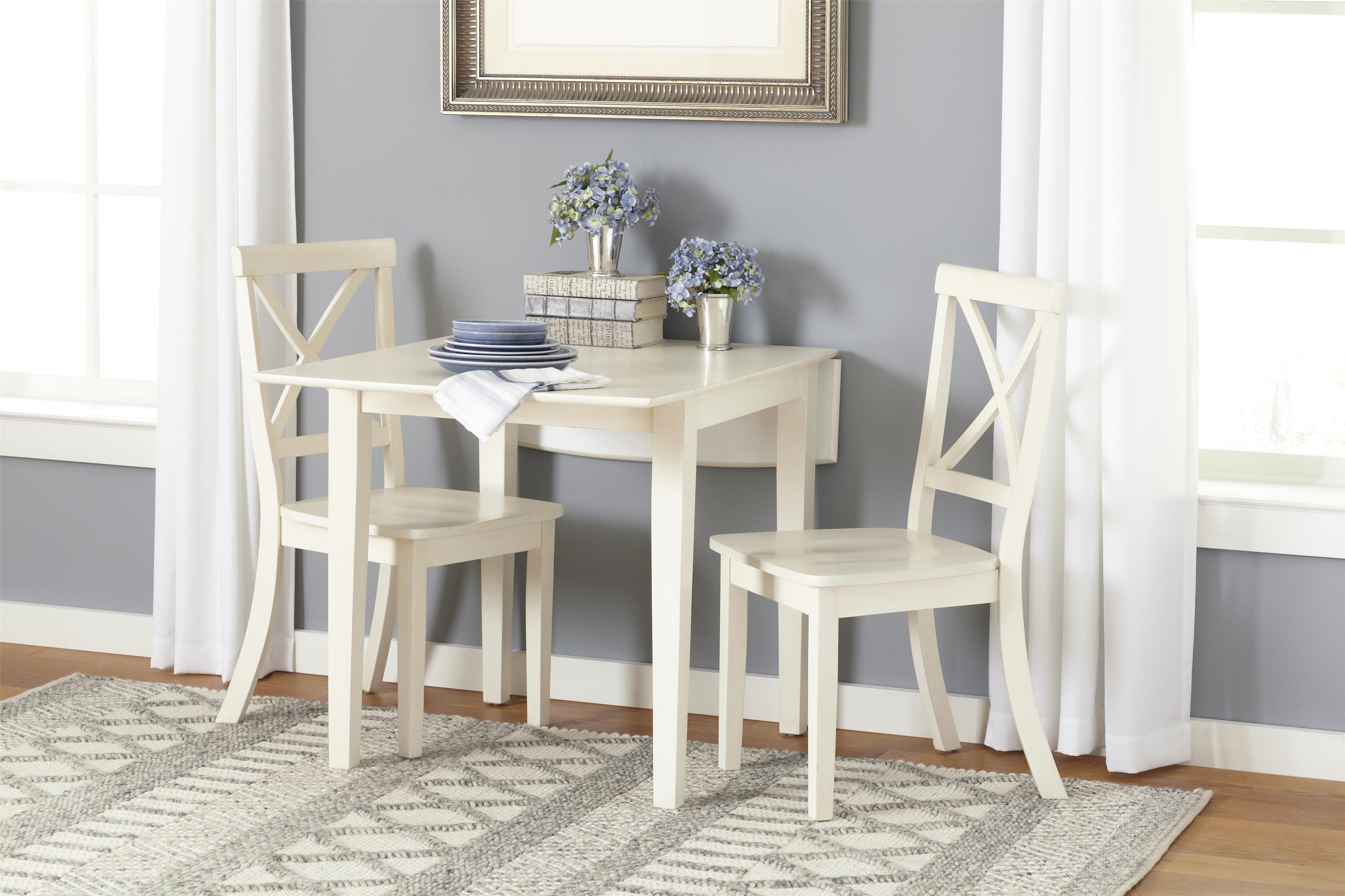 Everyday Classics 3 Pce Dinette Set by Jofran at Stoney Creek Furniture