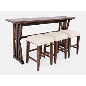 Sofa Counter Dining 4PC Set