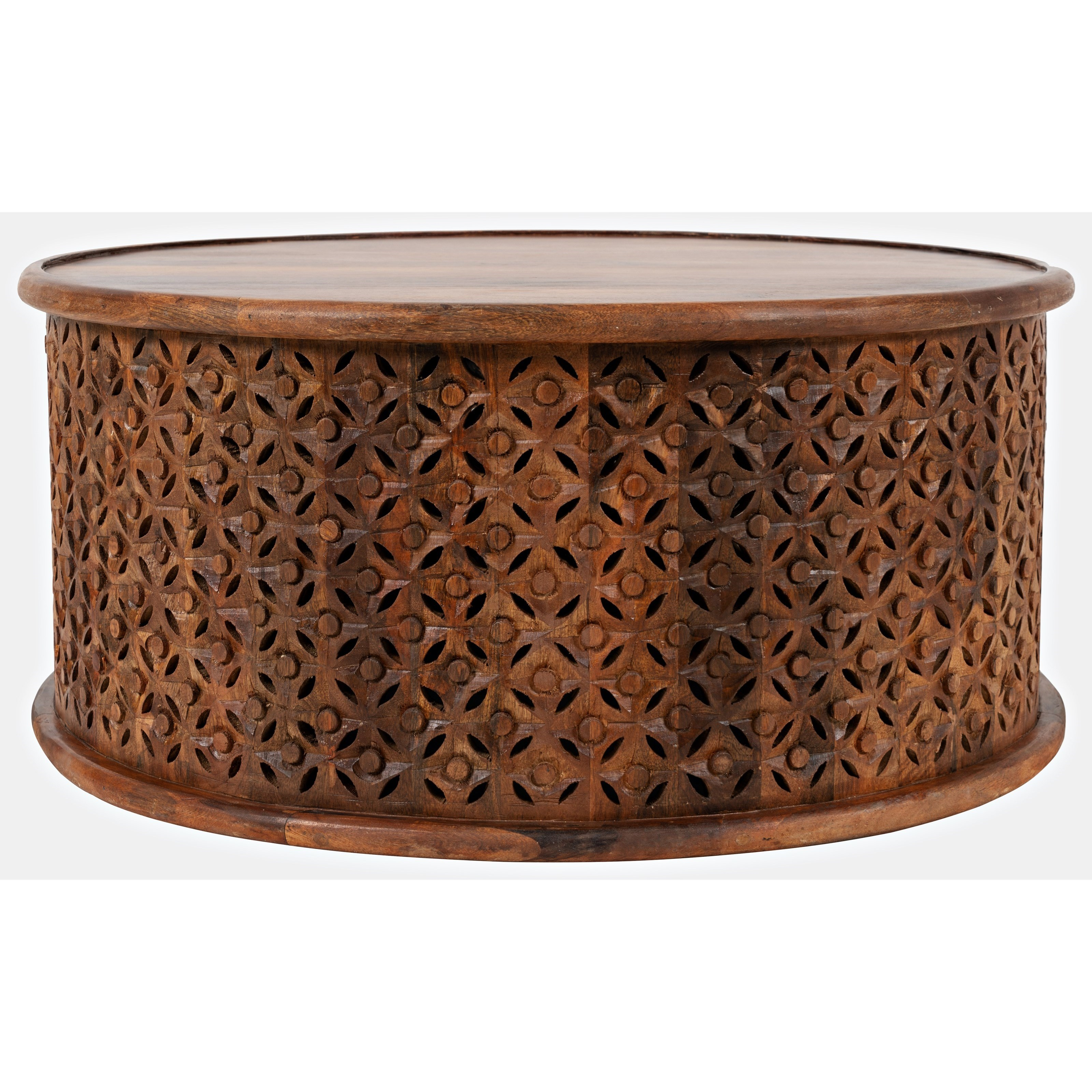 Decker Drum Coffee Table