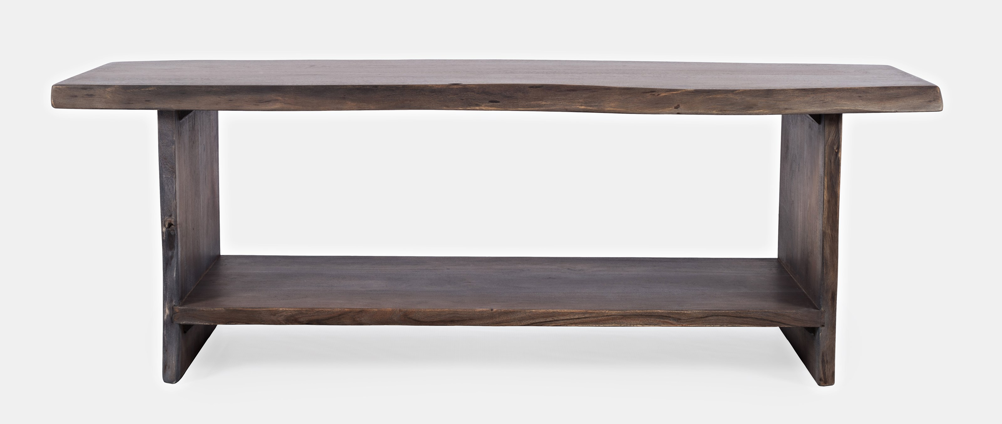 Global Archive Cooper Live Edge Storage Bench by Jofran at Darvin Furniture