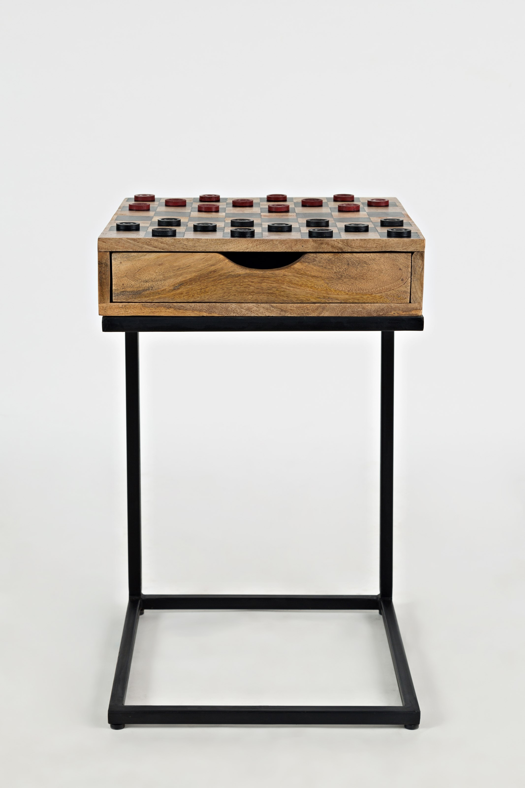 Global Archive Fairchild Checkerboard C-Table by Jofran at Jofran