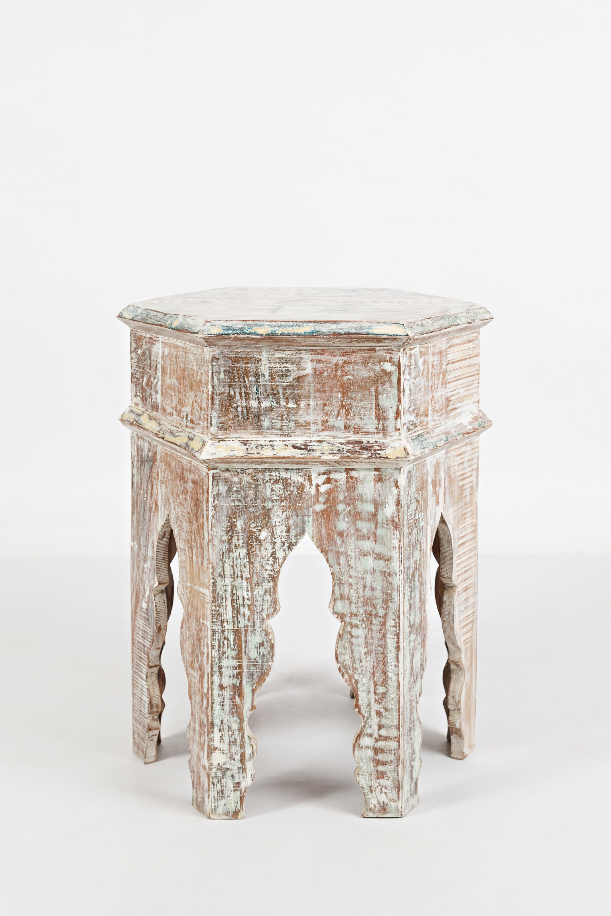 Global Archive Arabesque Accent Table by Jofran at Lucas Furniture & Mattress