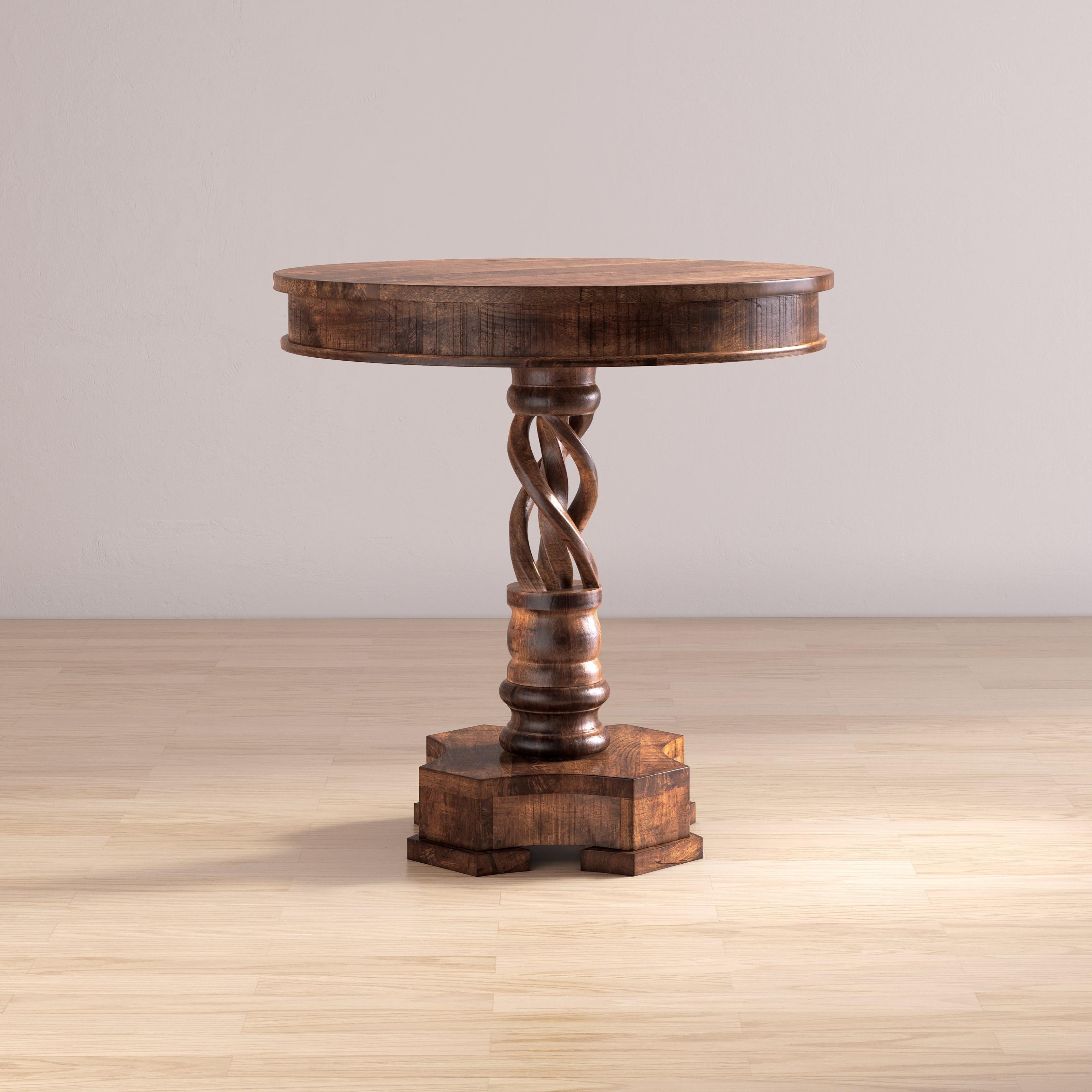 Global Archive Gwen Pedestal Table by Jofran at Jofran
