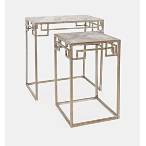 Marble Nesting - Set of 2 Small Table