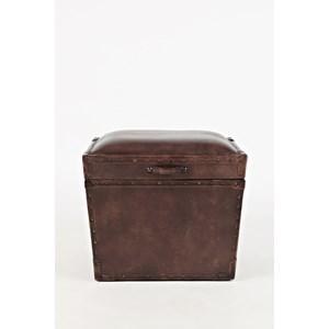 Leather Storage Chest