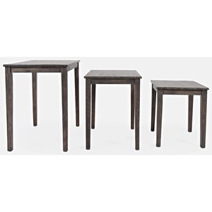 Clark Solid Wood Nesting Tables