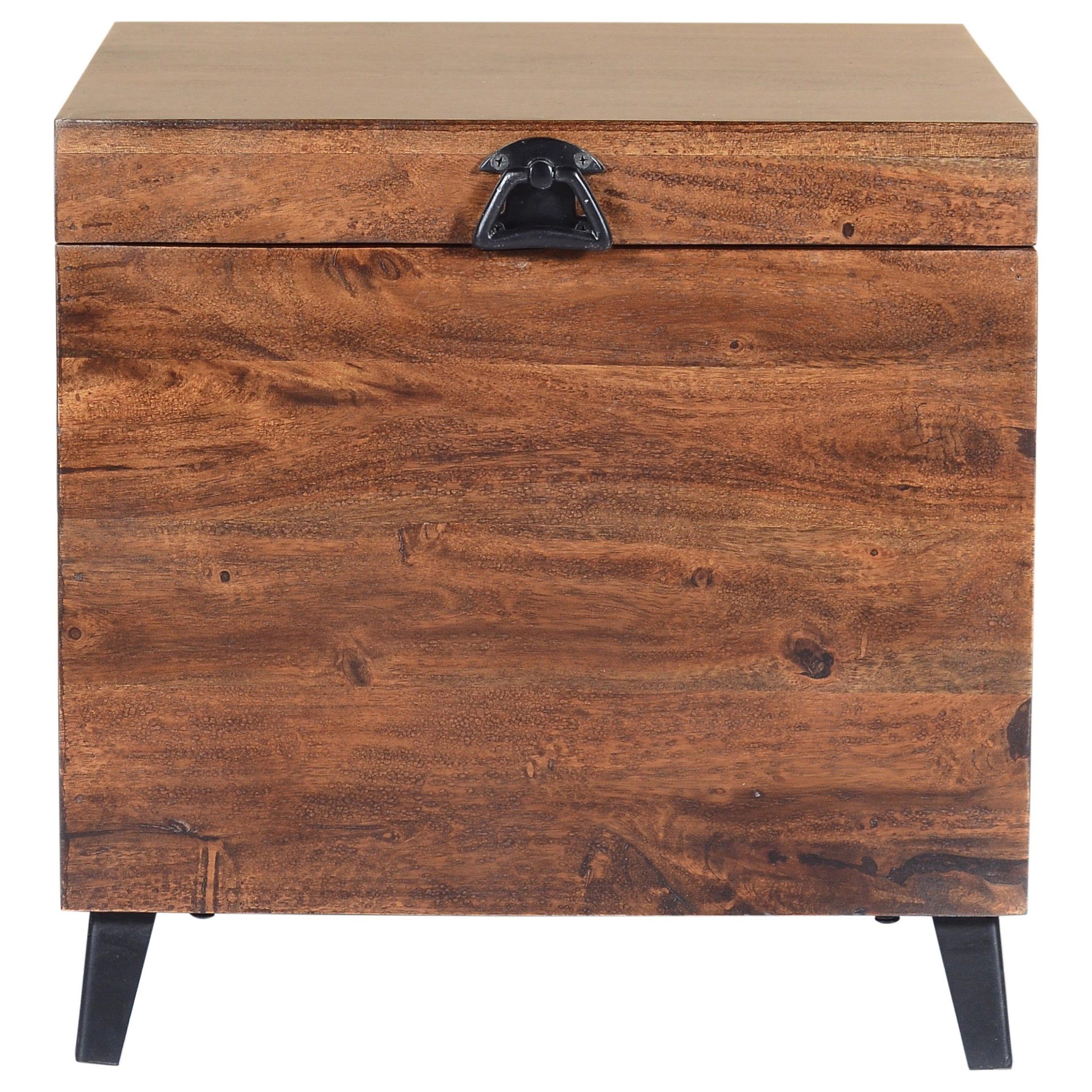 Global Archive Landon Small Storage Chest by Jofran at HomeWorld Furniture