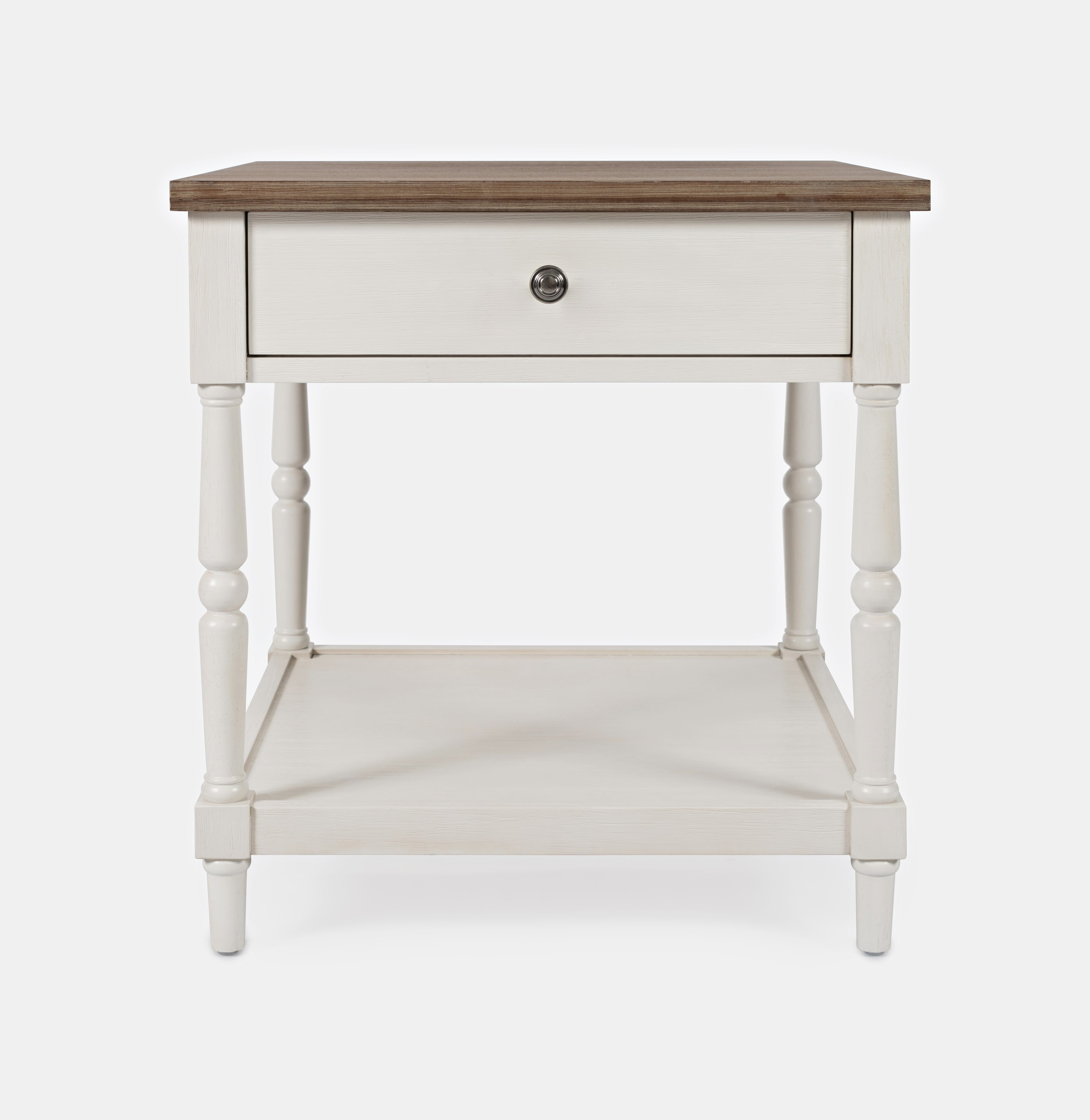 Grafton Farms End Table with Drawer by Jofran at Jofran