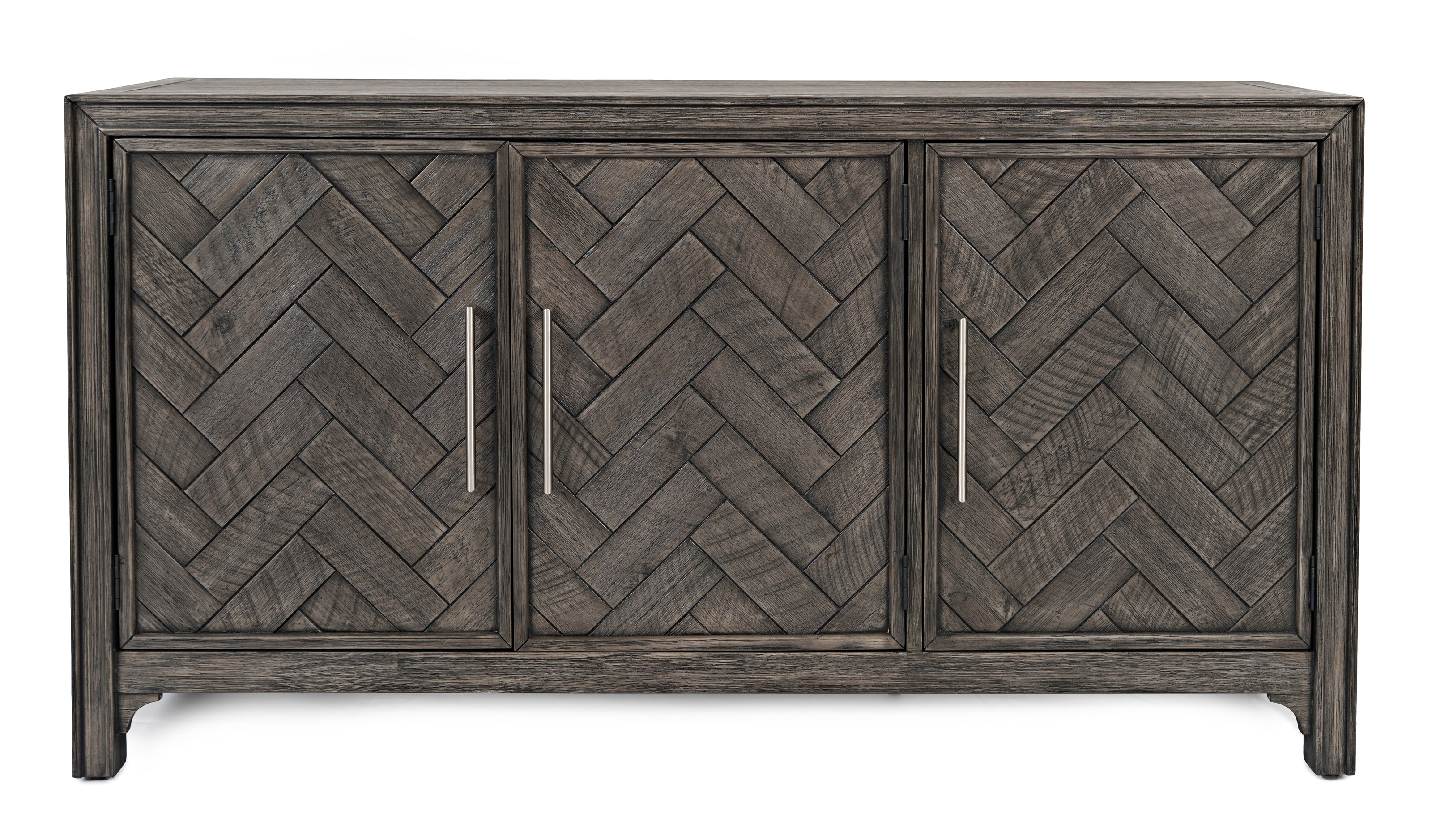 Gramercy Chevron Console by Jofran at Beck's Furniture