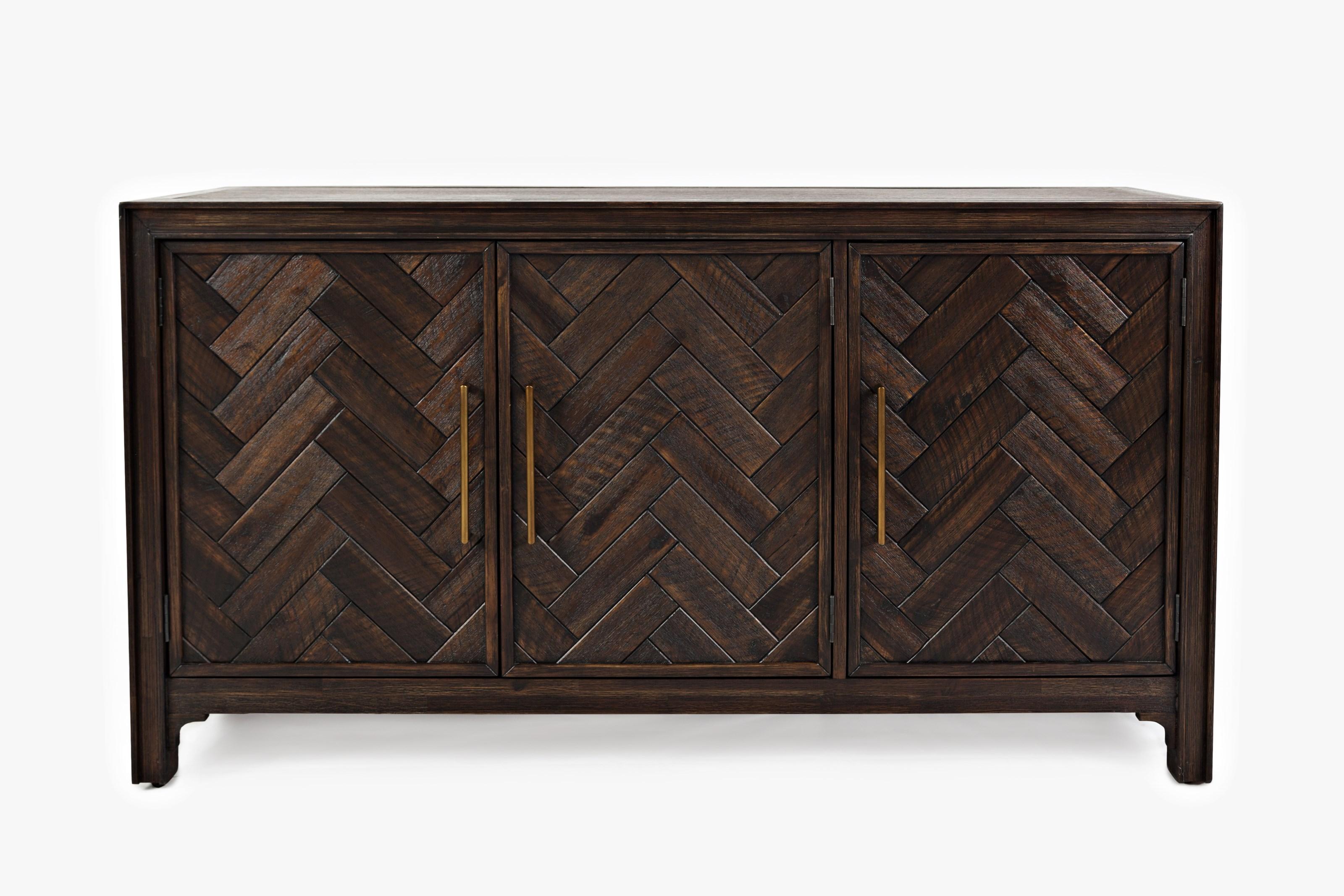 Gramercy 3 Door Accent Cabinet by Jofran at Bullard Furniture