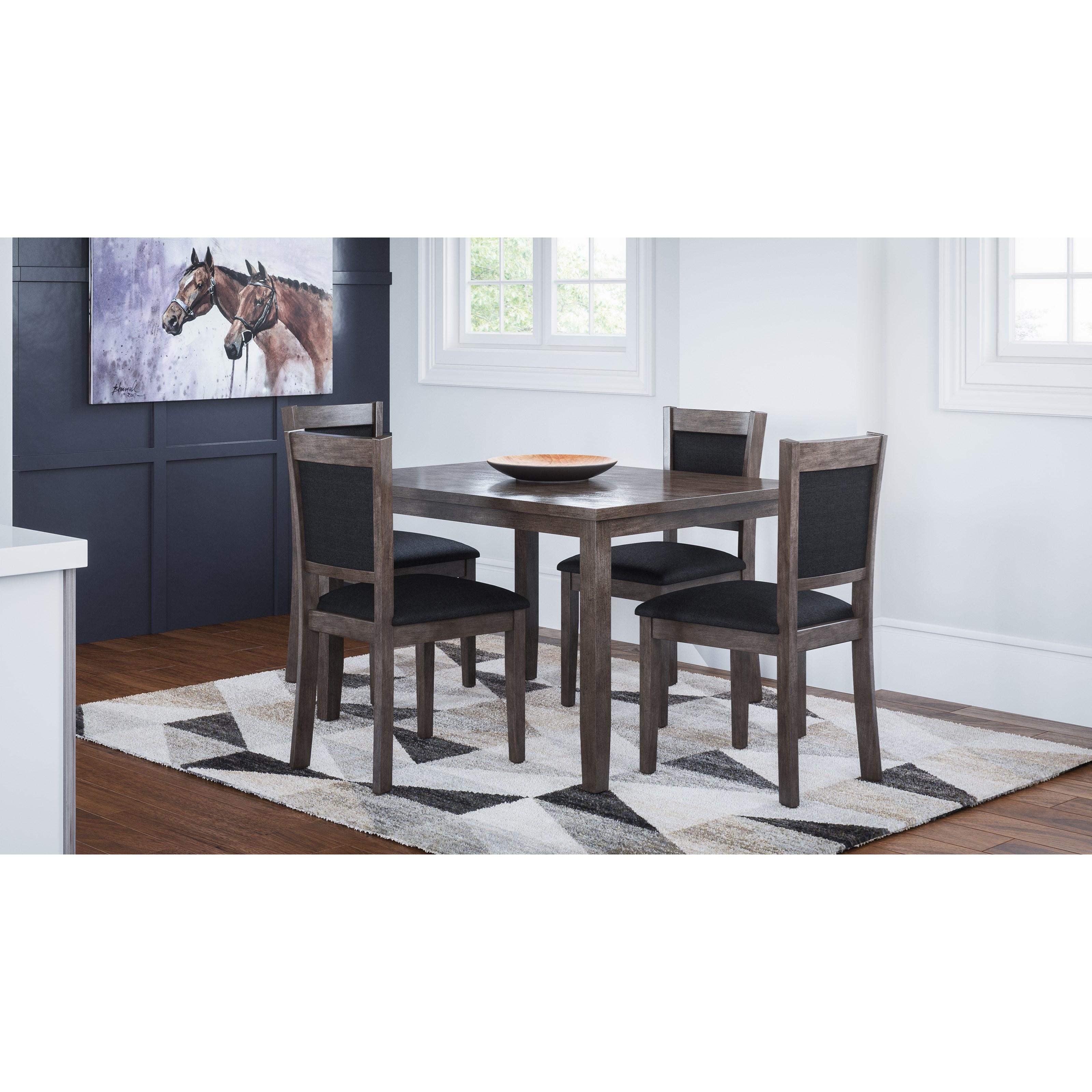Braden Braden 5-Piece Dining Table Set by Jofran at Morris Home