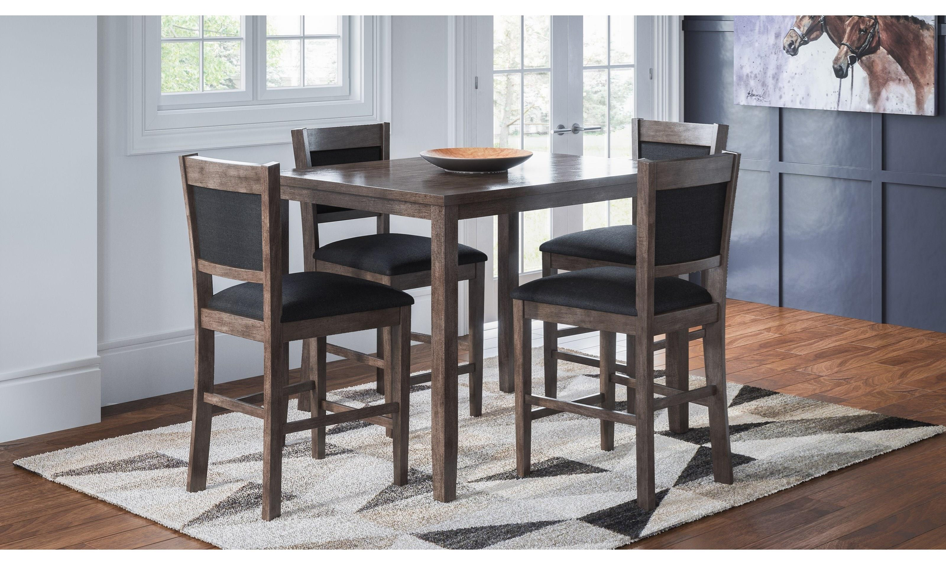 Selkirk  Pub Height Table and 4 Stools at Walker's Furniture