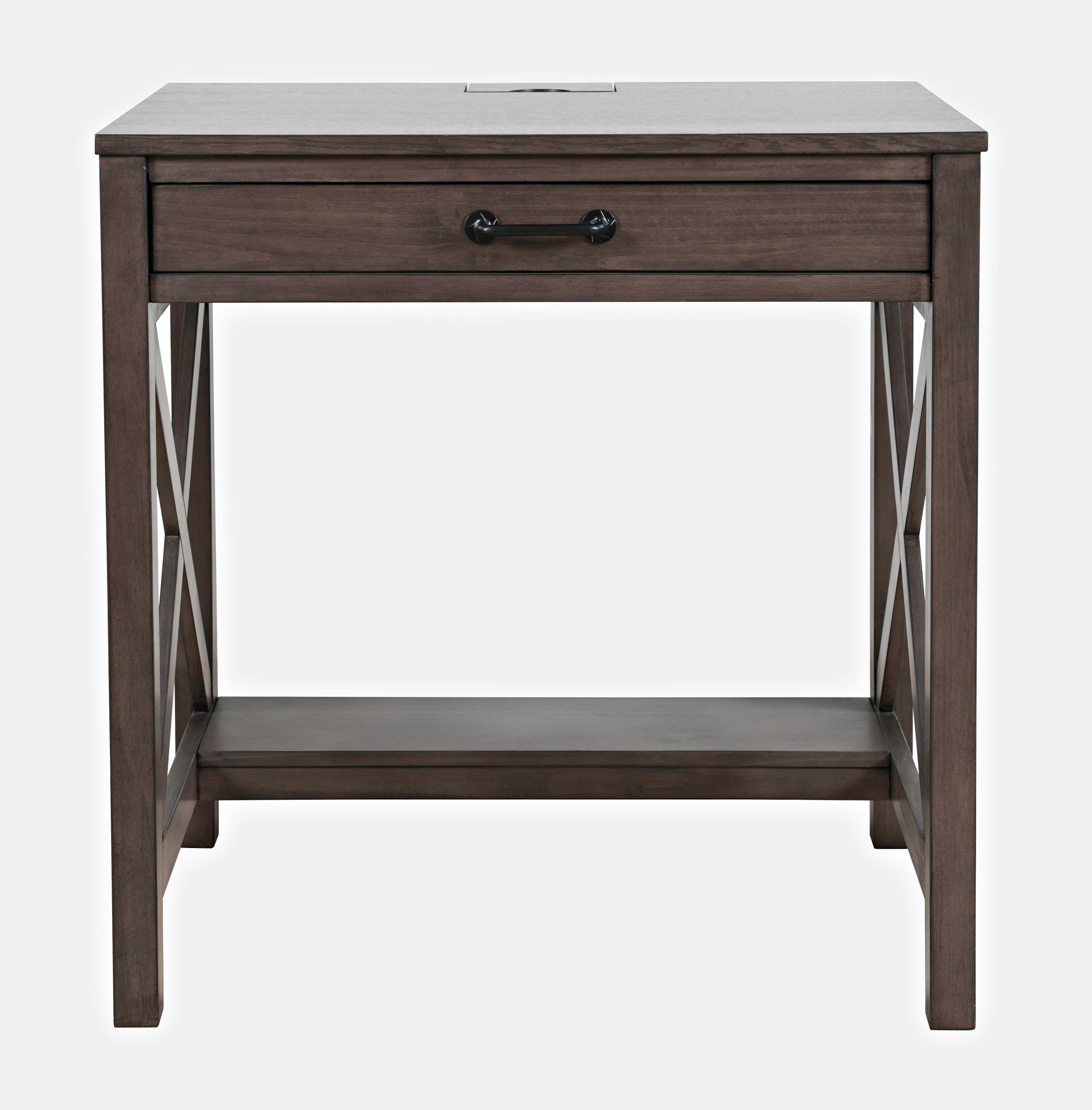 Hobson Power Desk by Jofran at Darvin Furniture