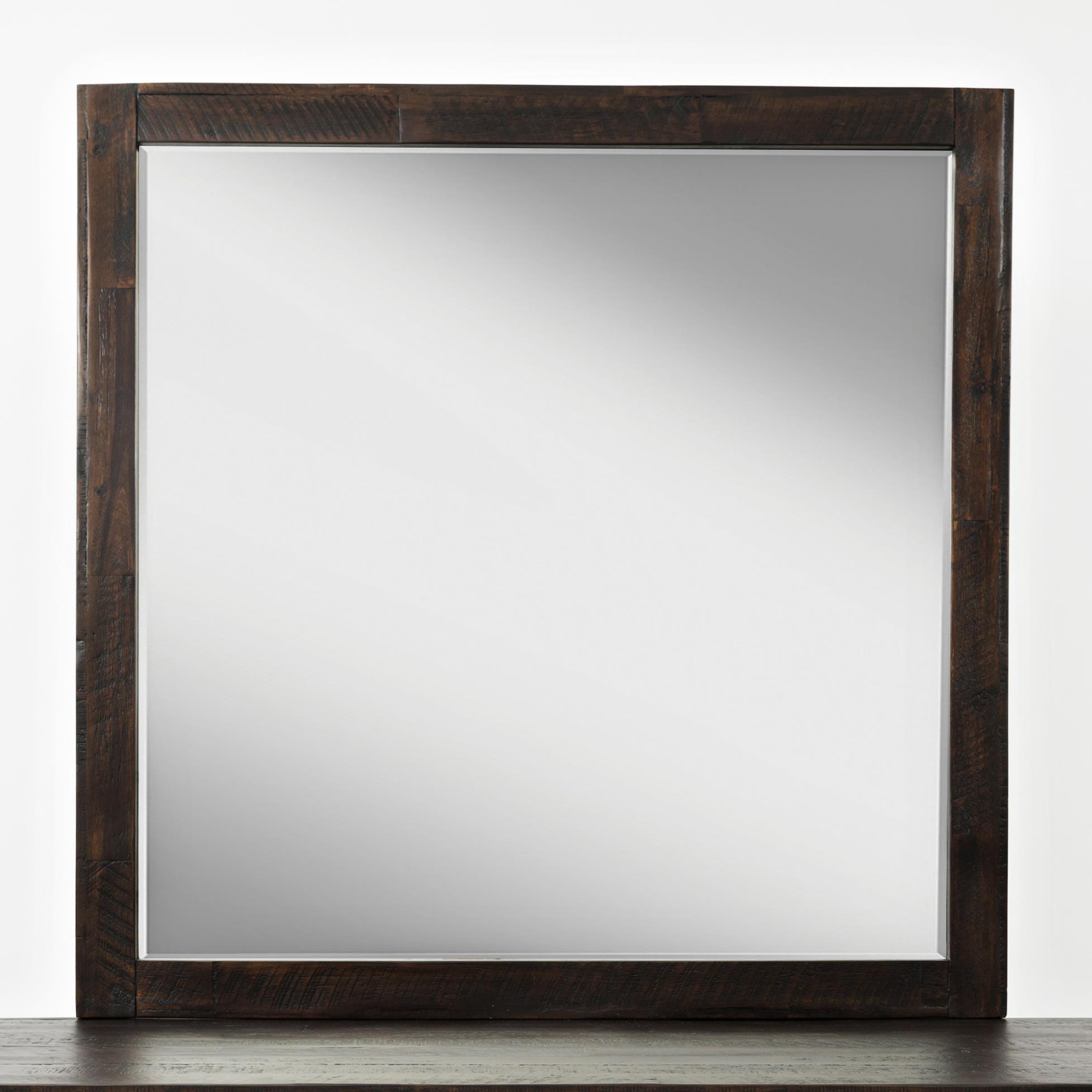 Jackson Lodge Studio Mirror by Jofran at Bullard Furniture