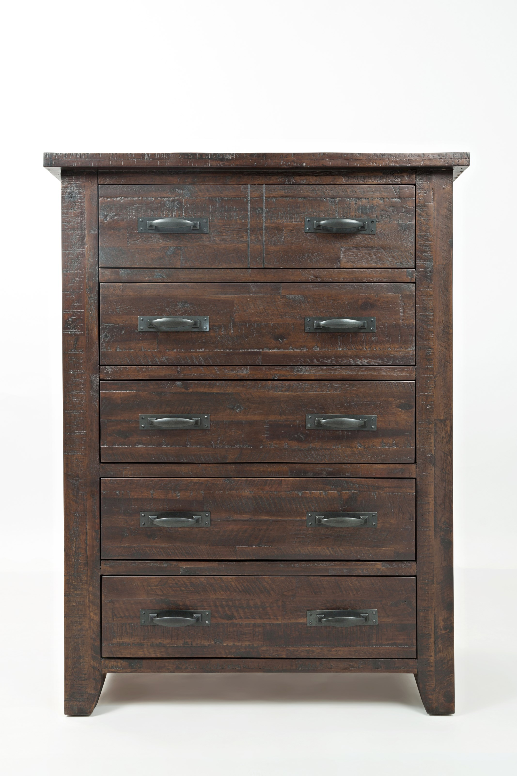 Jackson Lodge 5 Drawer Chest by Jofran at Pilgrim Furniture City