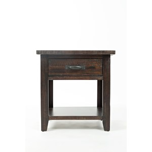 Jofran Jackson Lodge Studio Nightstand