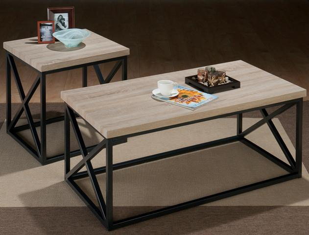 Orion Ash X Side 3 Pack Table Set by Jofran at Jofran