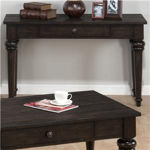 Traditional Sofa Table with Drawer