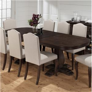 Jofran Grand Terrace Dining Table with Butterfly Leaf