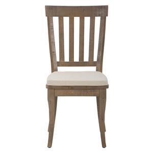 Jofran Slater Mill Pine Slatback Side Chair