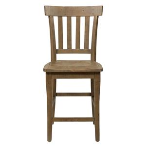 Slat Back Stool
