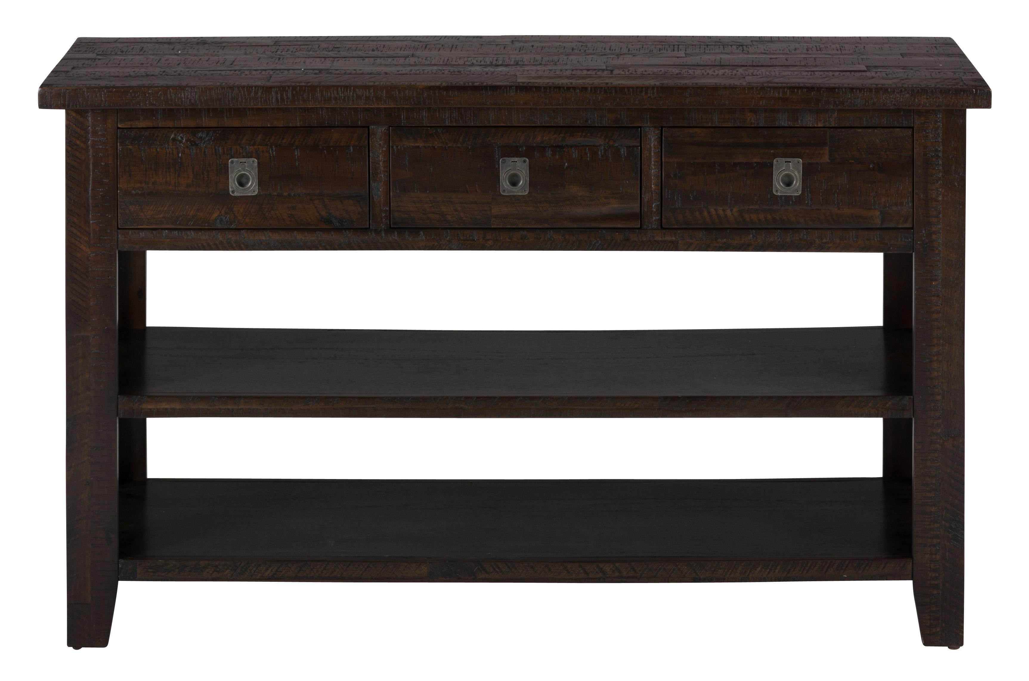 Kona Grove Sofa/Media Table by Jofran at Johnny Janosik