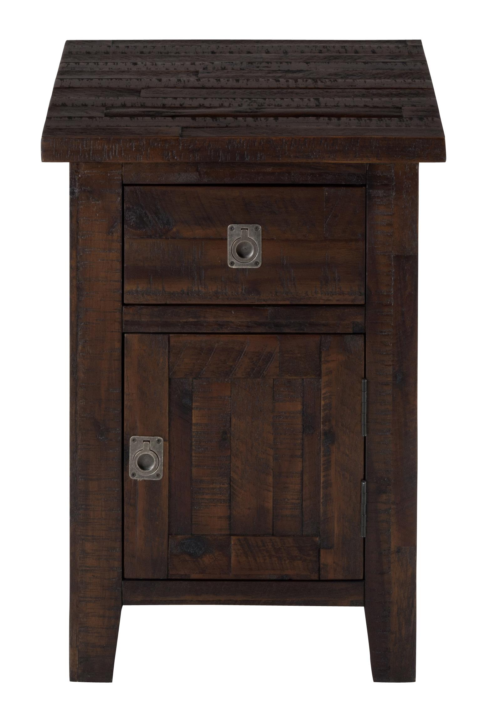 Kona Grove Cabinet Chairside Table by Jofran at Jofran
